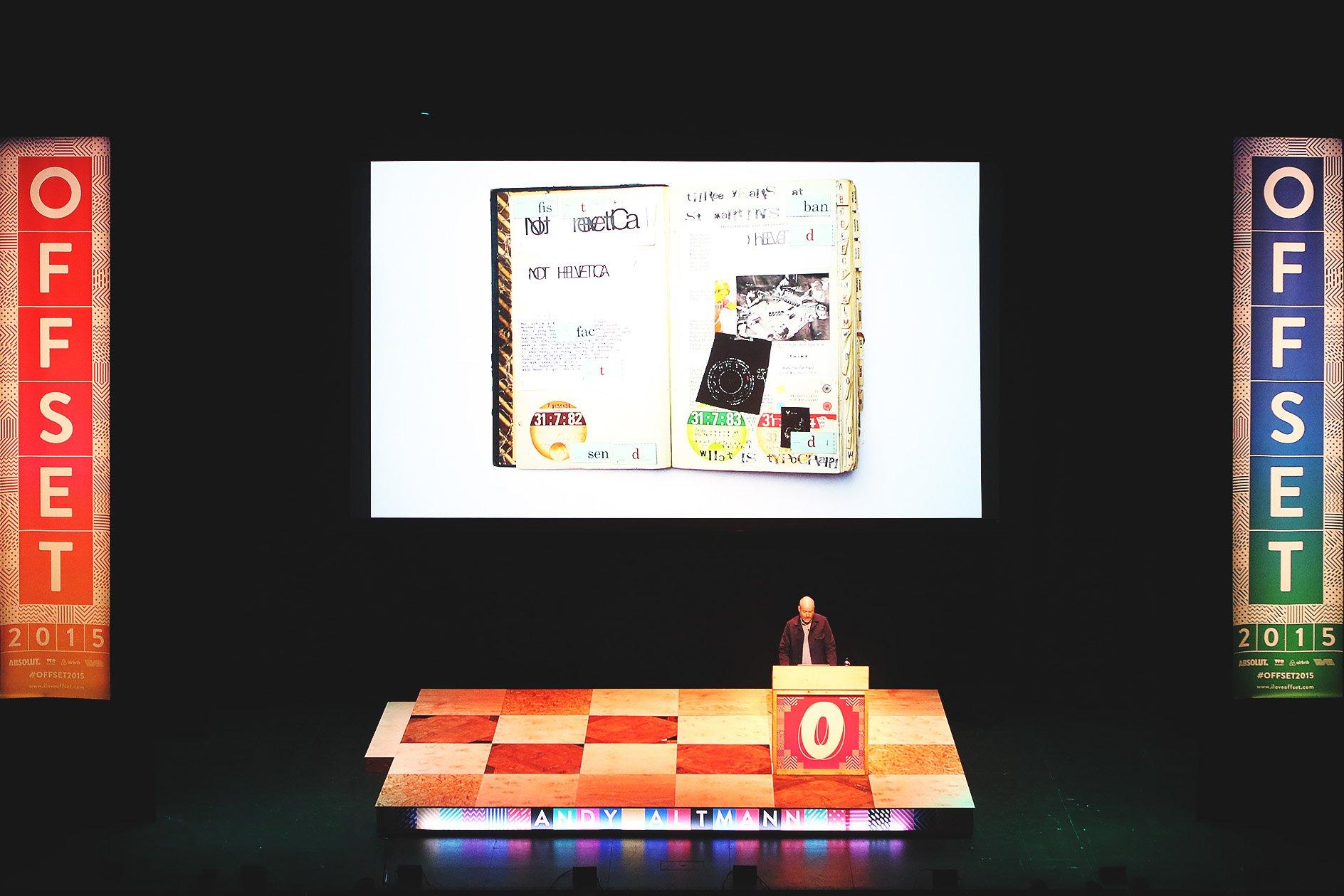 Andy Altmann at OFFSET 2015 – Work samples