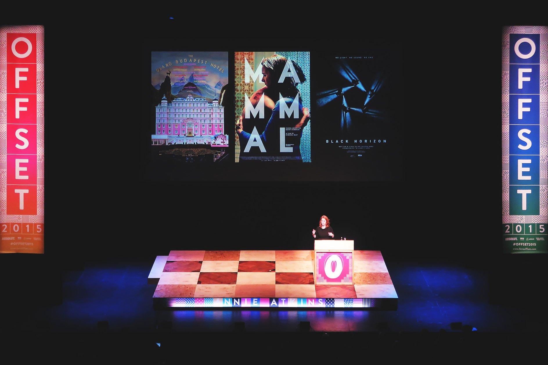 Annie Atkins at OFFSET 2015 – Work Samples