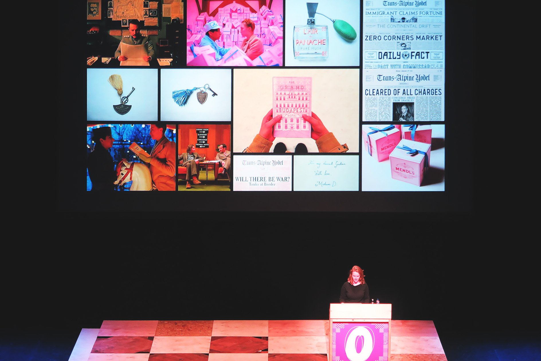 Annie Atkins at OFFSET 2015 – The Grand Budapest Hotel Props