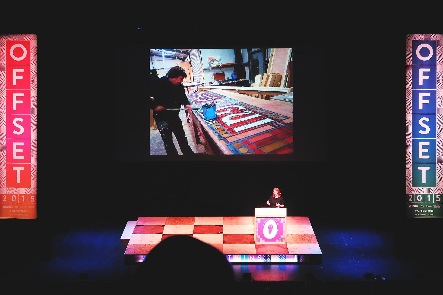 Annie Atkins at OFFSET 2015 – Making Theatre Signage
