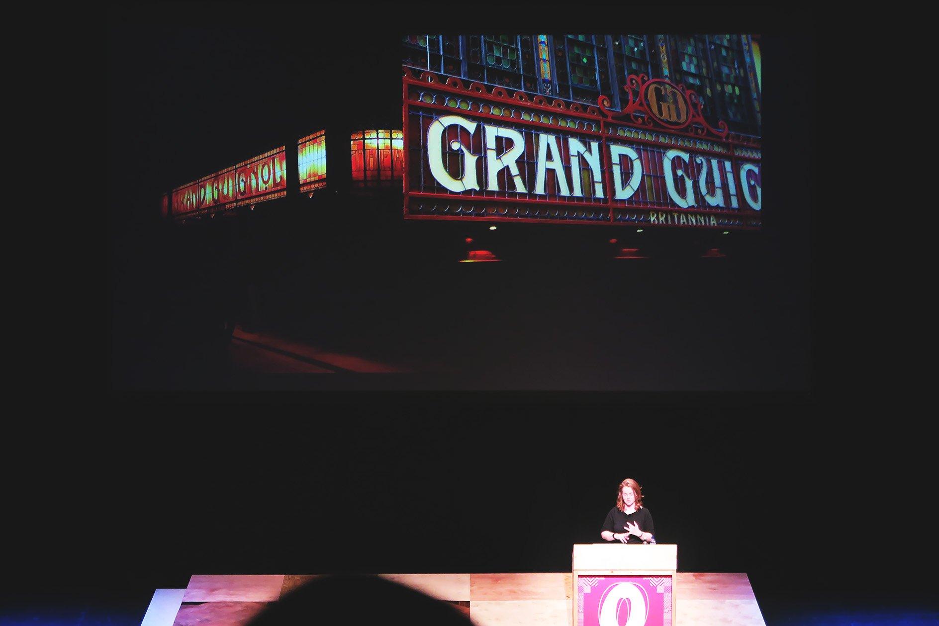 Annie Atkins at OFFSET 2015 – Theatre Signage