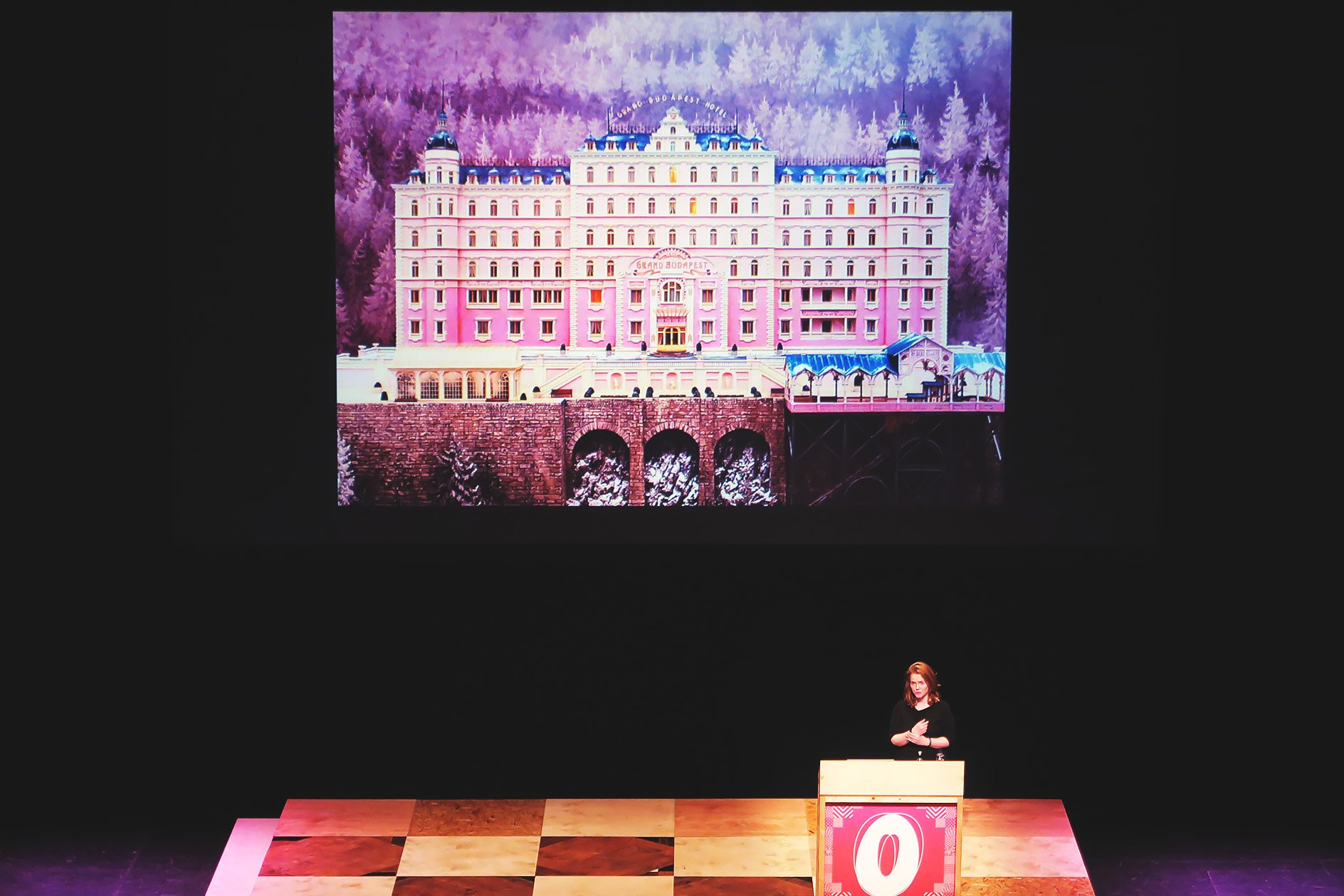 Annie Atkins at OFFSET 2015 – The Grand Budapest Hotel
