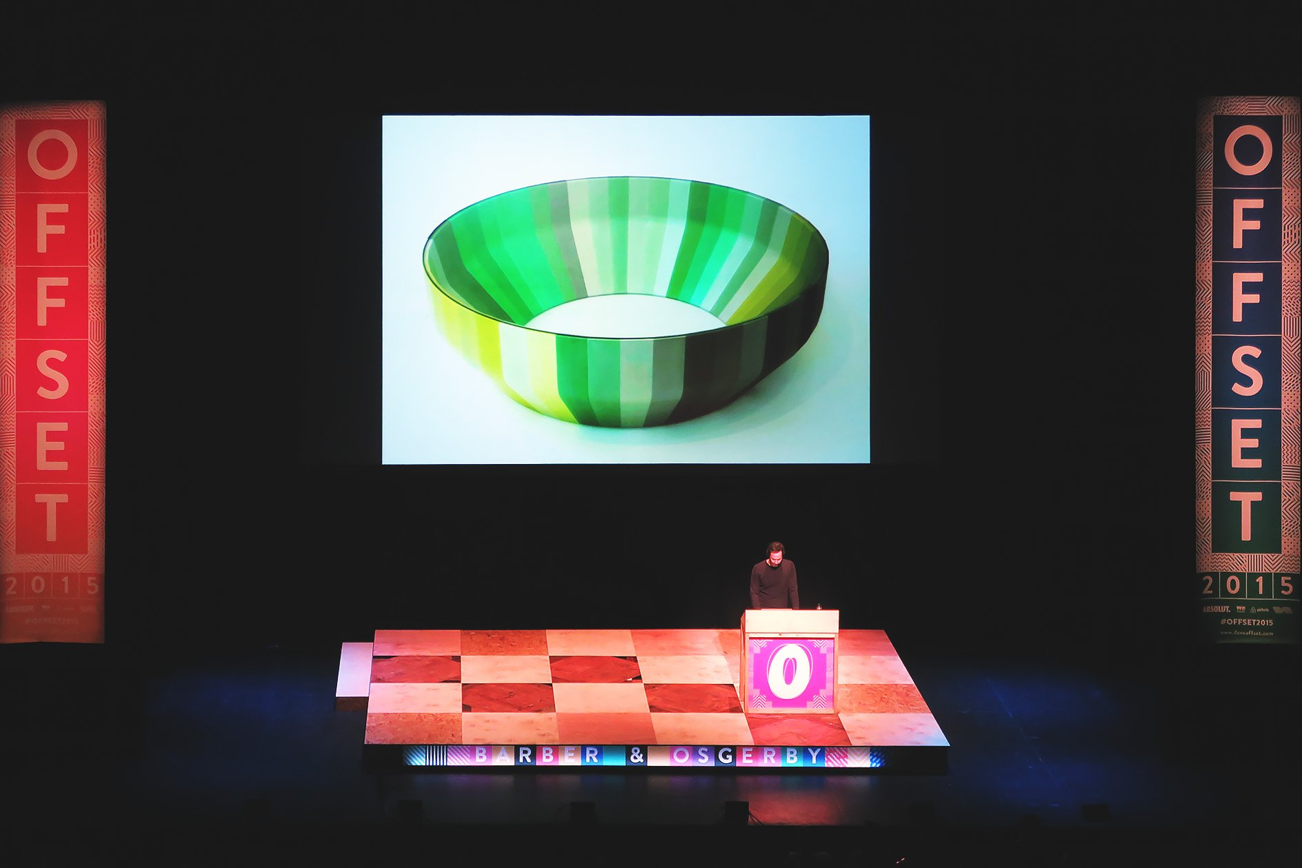 Barber & Osgerby at OFFSET 2015 – Table design
