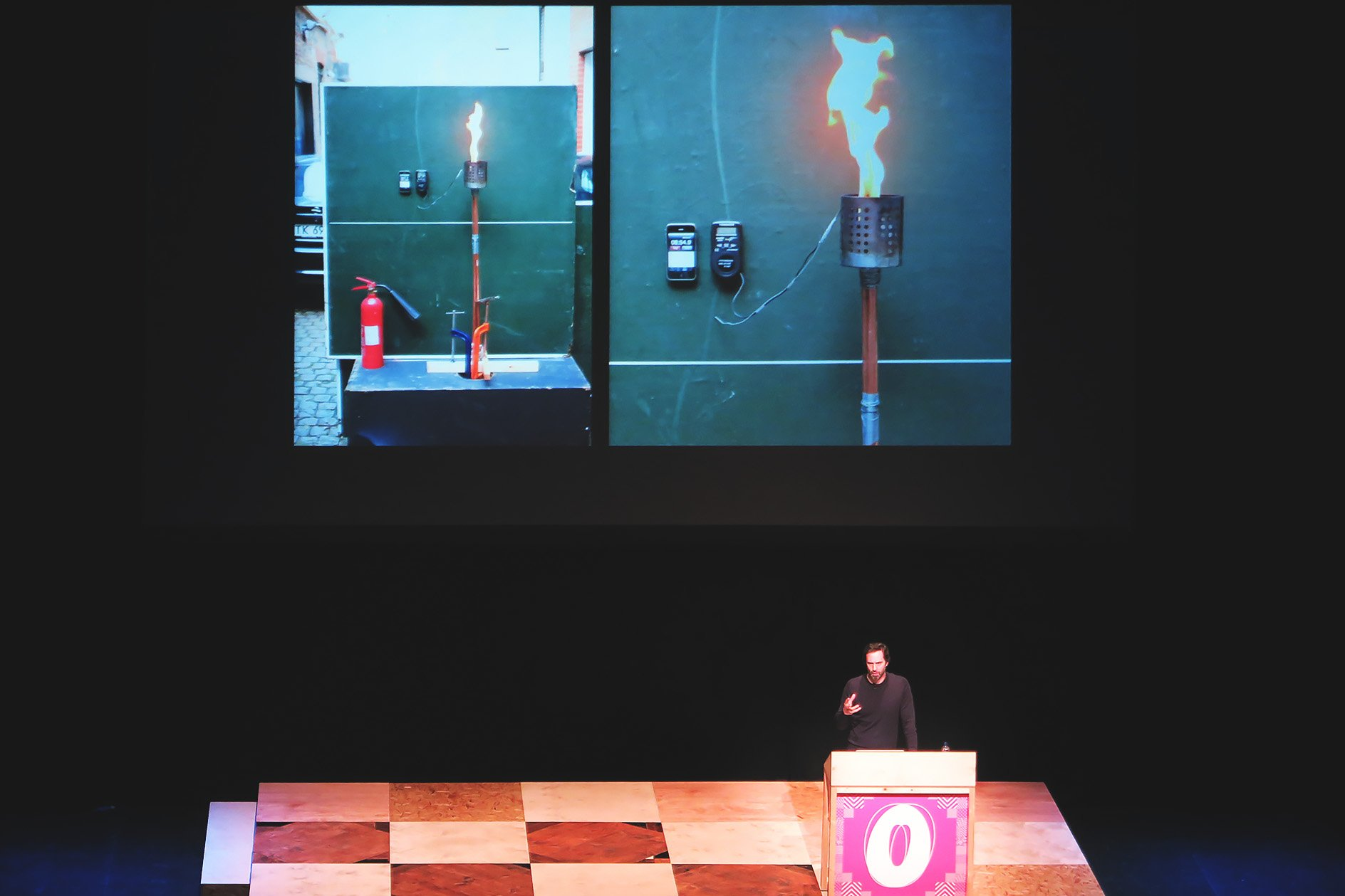 Barber & Osgerby at OFFSET 2015 – Olympic Torch Testing