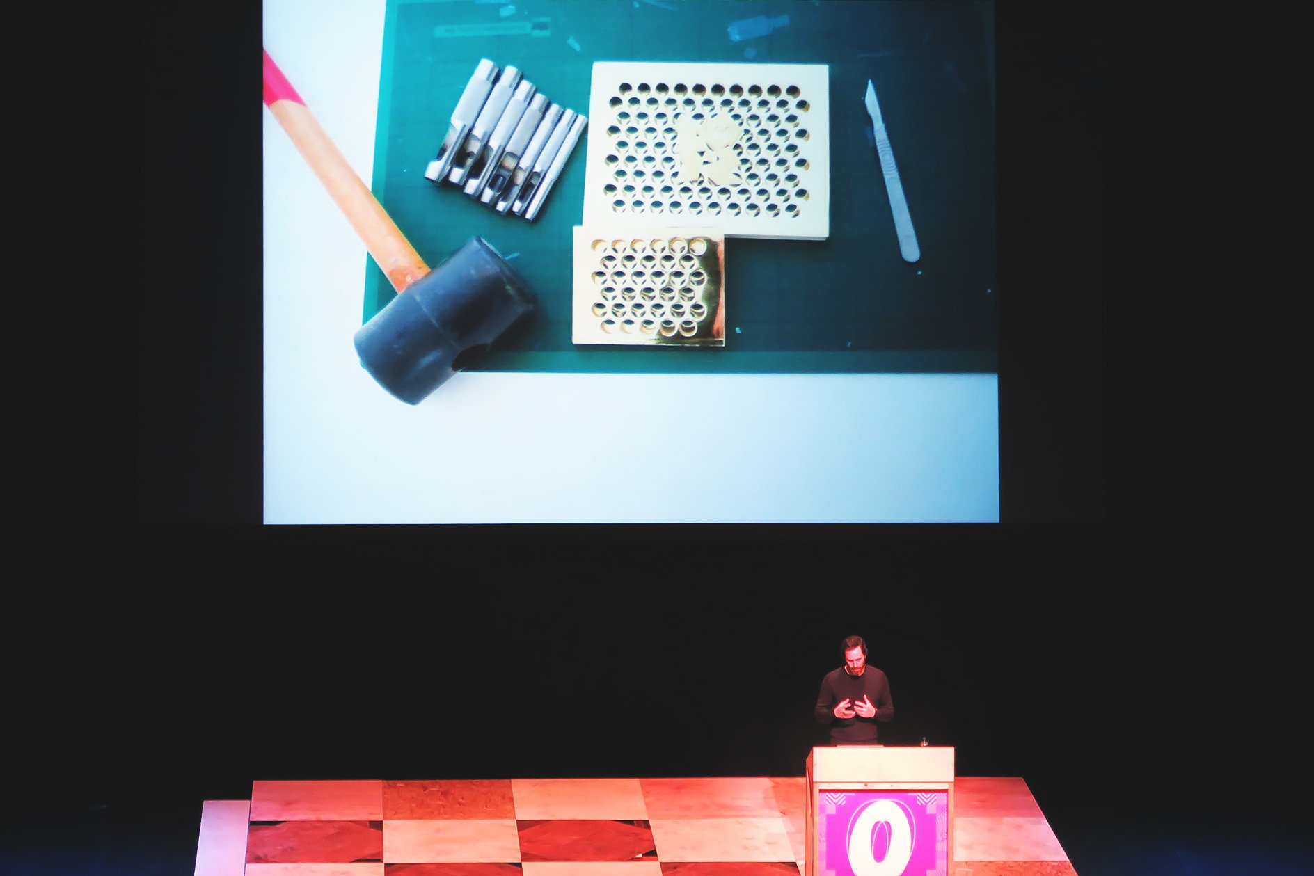 Barber & Osgerby at OFFSET 2015 – Olympic Torch Materials