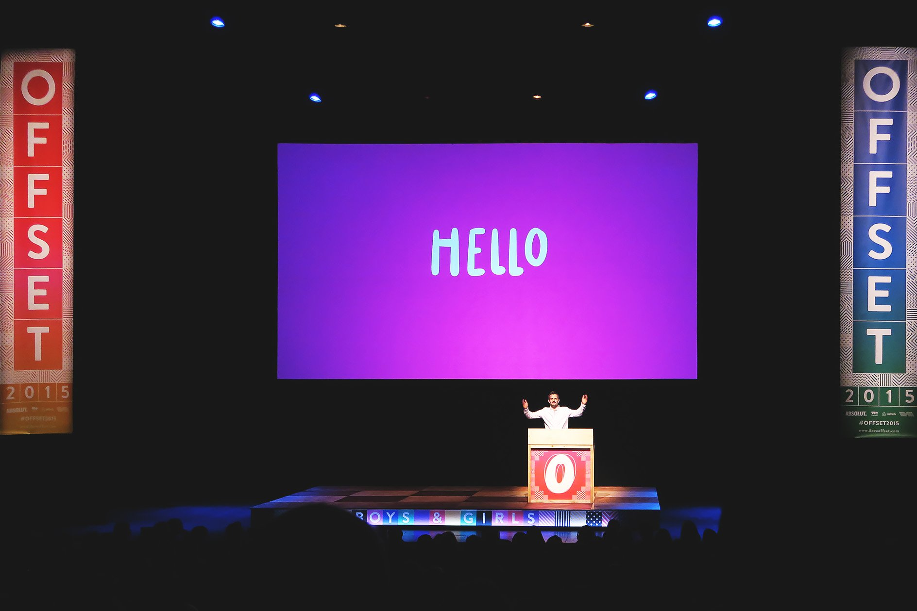 Boys and Girls at OFFSET 2015