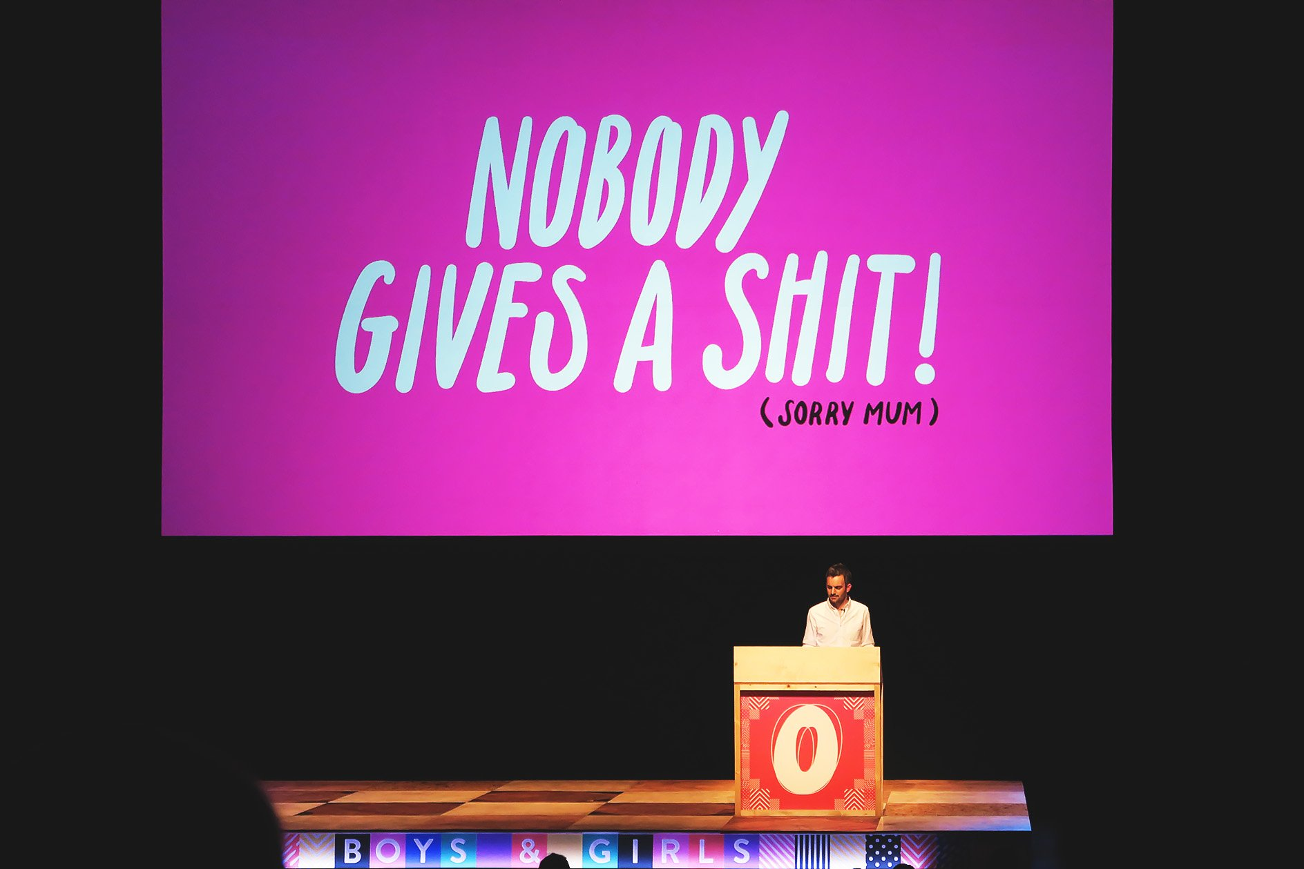 Boys and Girls at OFFSET 2015 – Nobody Gives a Shit