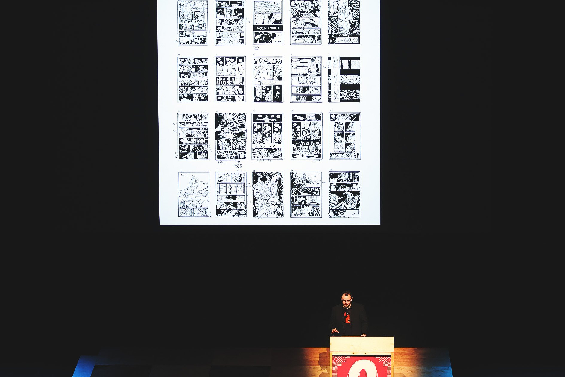 Declan Shalvey at OFFSET 2015 – Initial small sketches