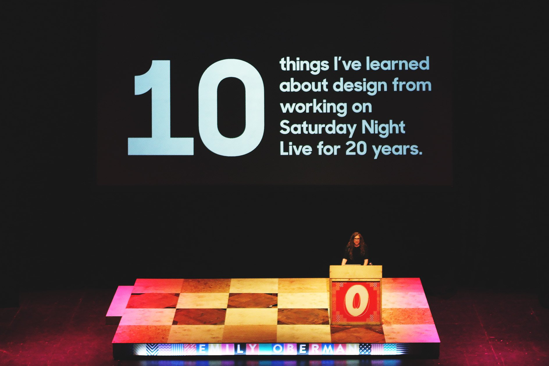 Emily Oberman at OFFSET 2015 – 10 Things I learnt from working on Saturday night live for 20 years