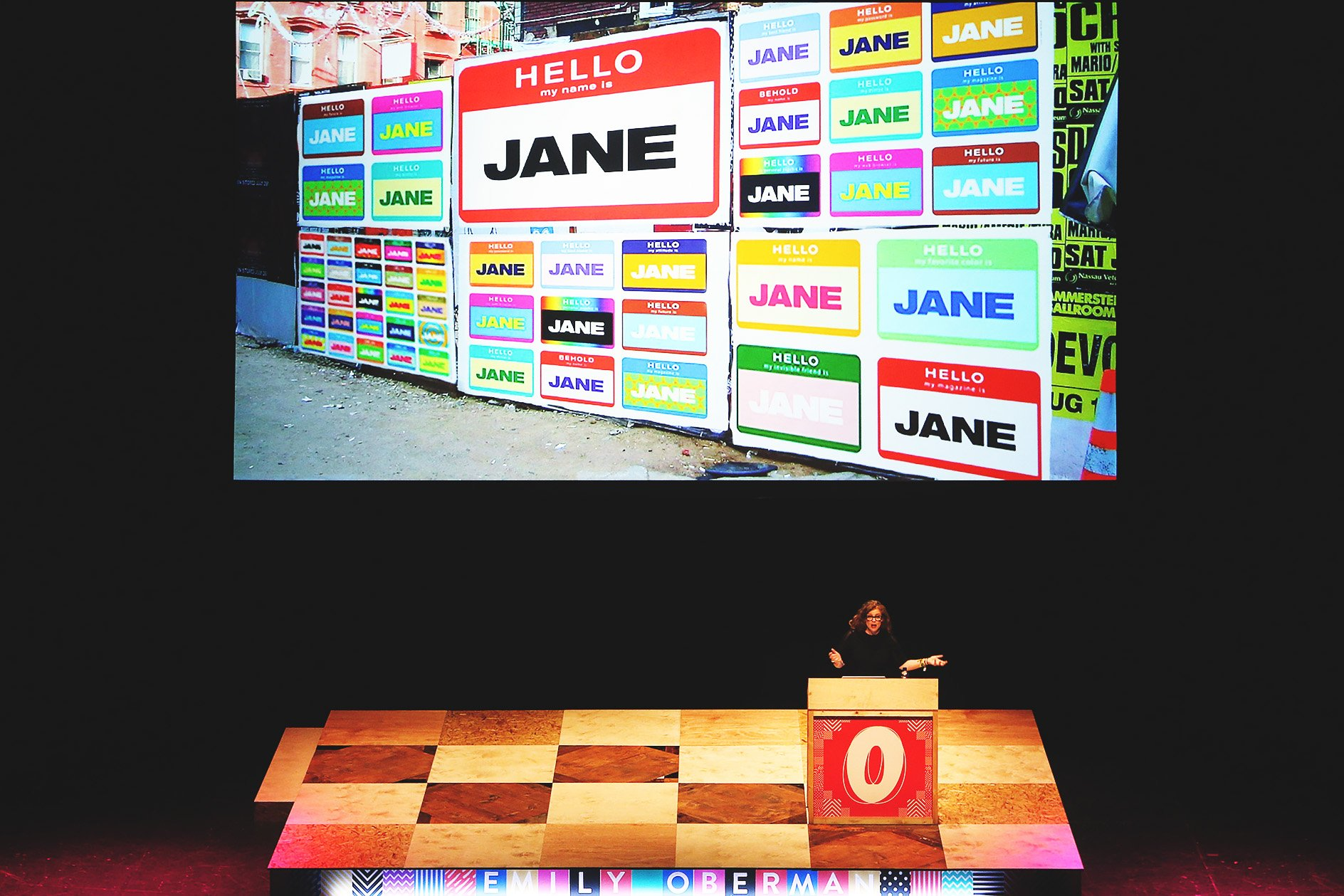 Emily Oberman at OFFSET 2015 – Hello my name is Jane
