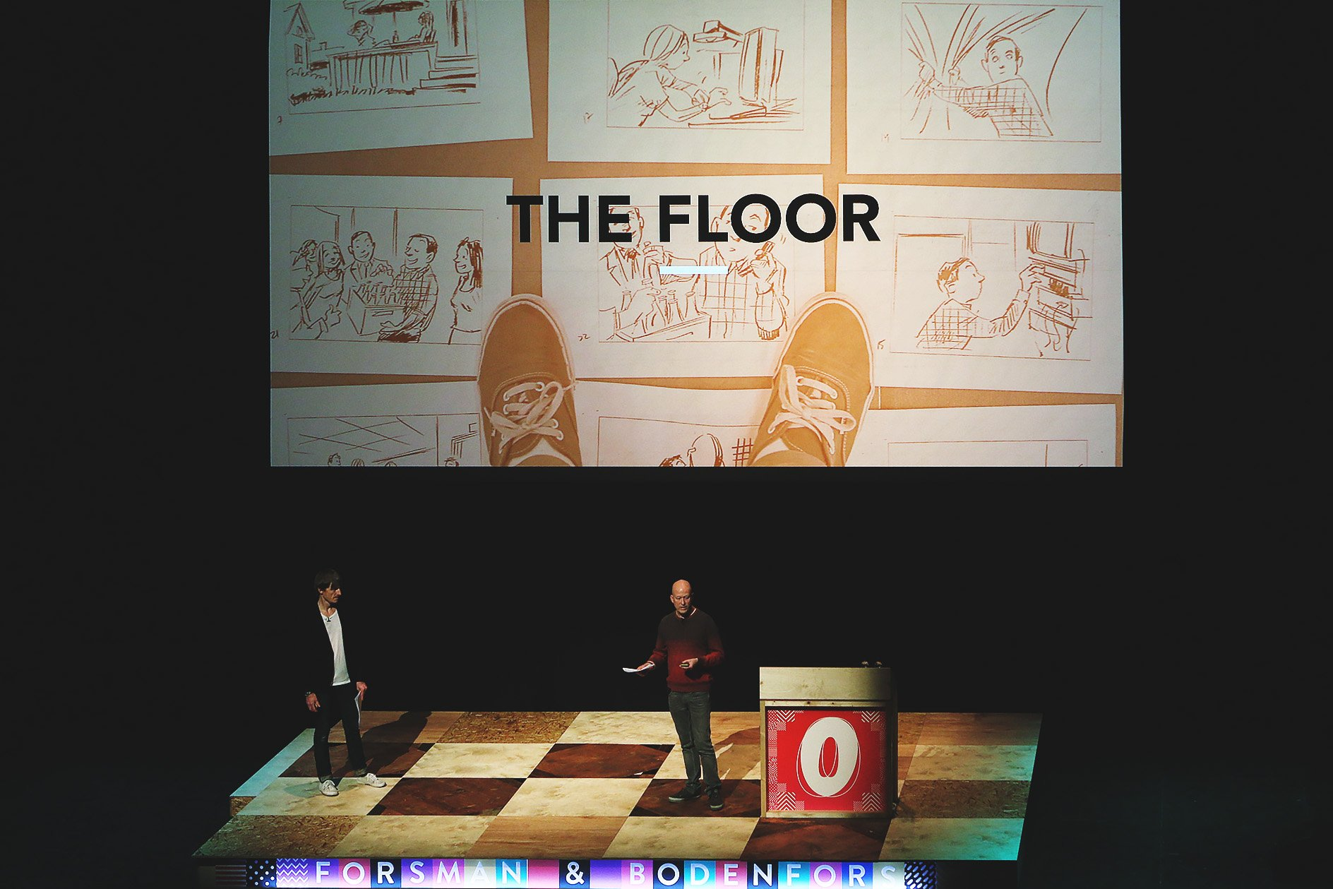 Forsman & Bodenfors at OFFSET 2015 - The Floor