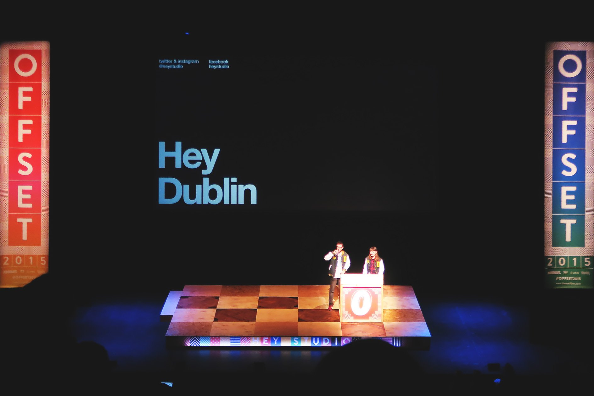 Hey Studio at OFFSET 2015 – Hey Dublin