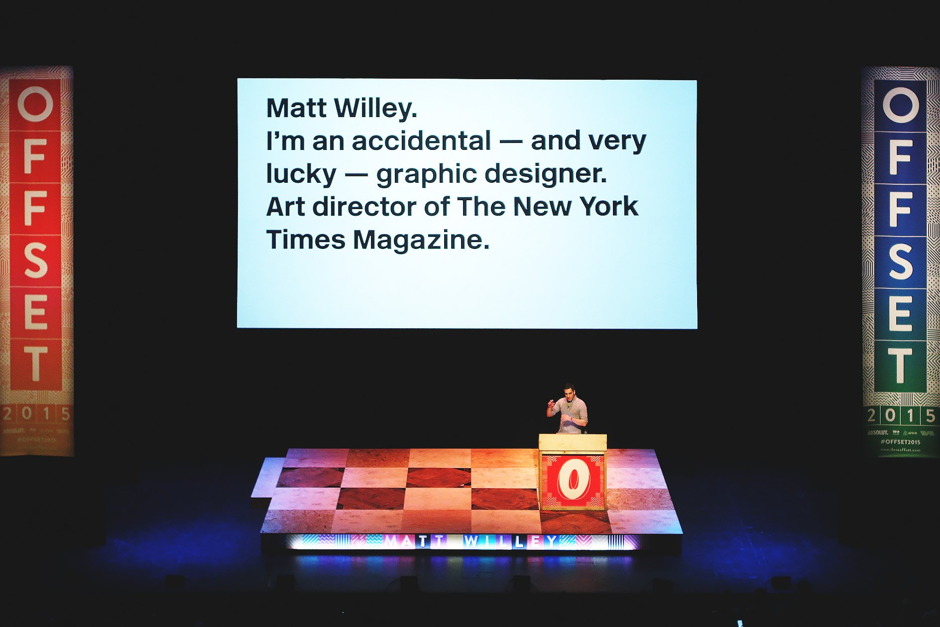 Matt Willey at OFFSET 2015 – Introduction