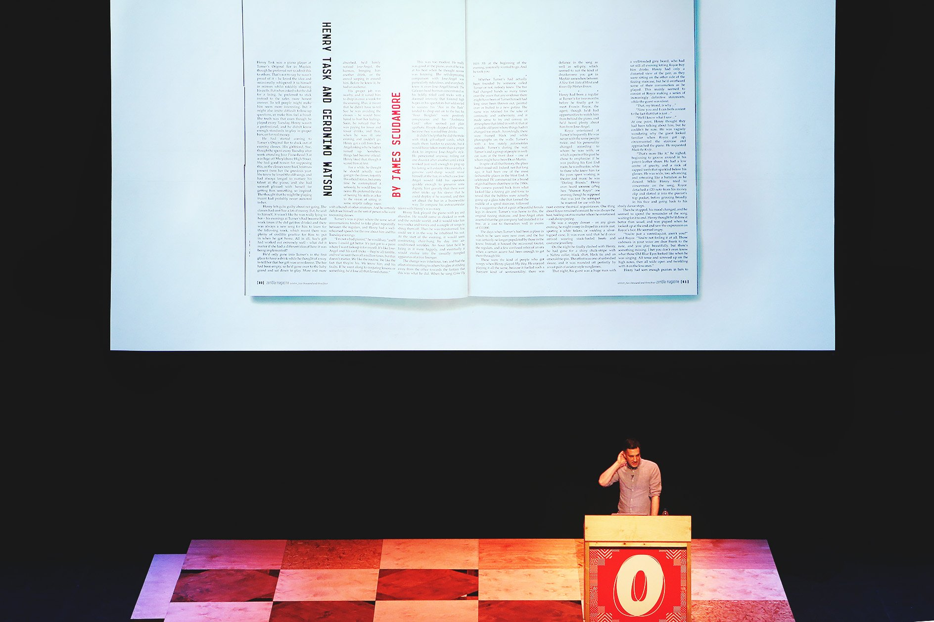 Matt Willey at OFFSET 2015 – Typography playfulness