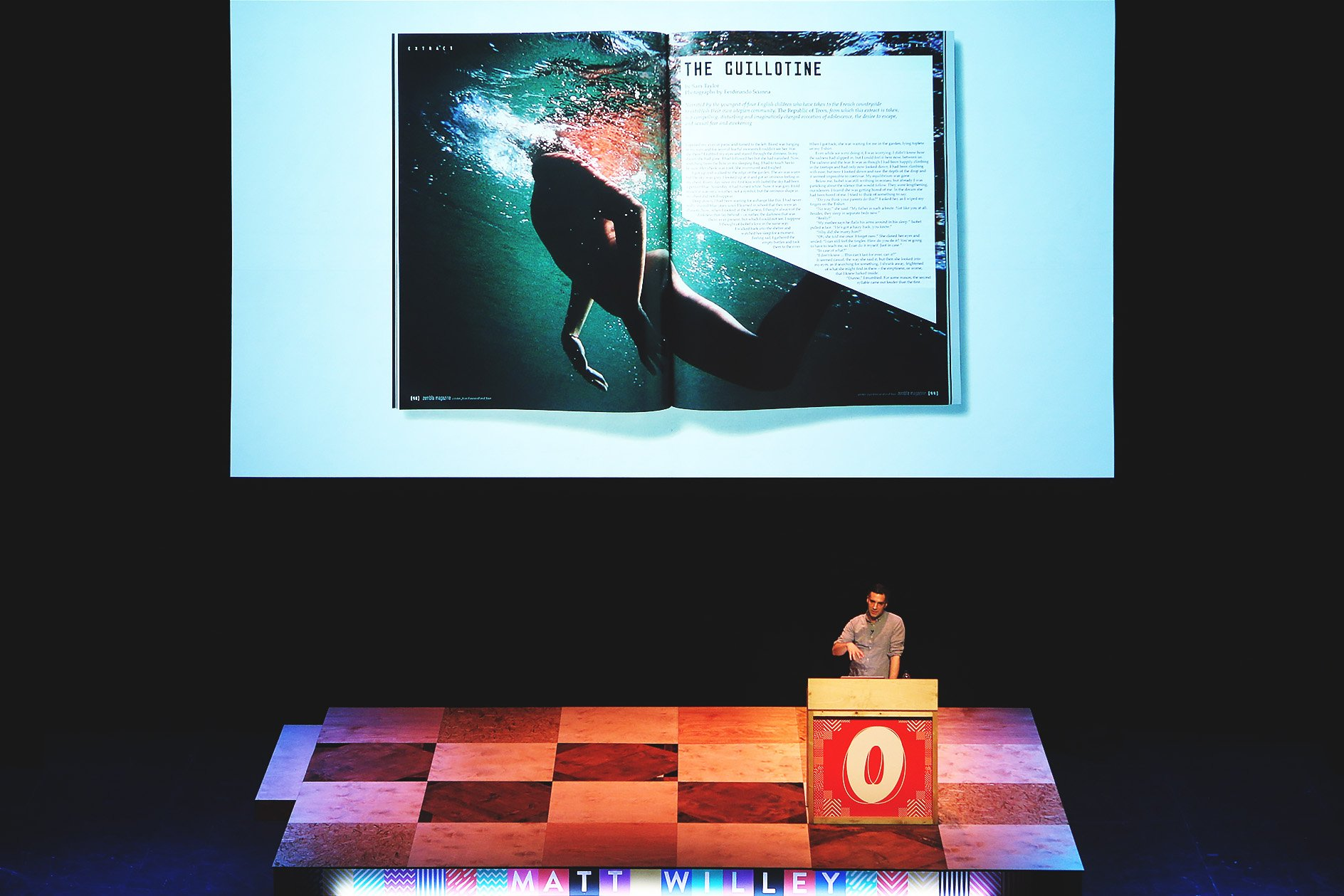 Matt Willey at OFFSET 2015 – Typographic layout according to content
