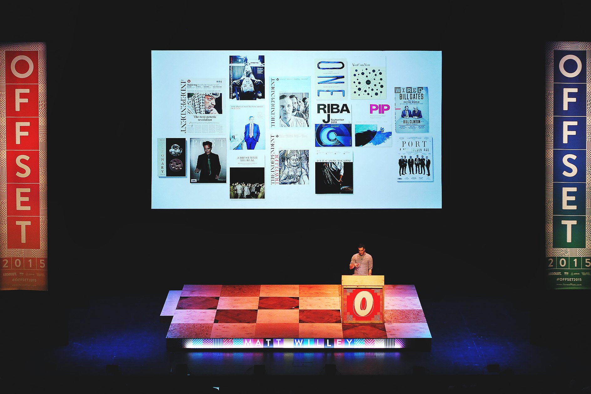Matt Willey at OFFSET 2015 – Work samples