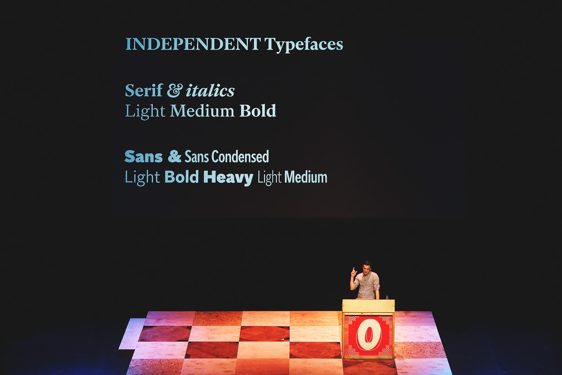 Matt Willey at OFFSET 2015 – Typefaces for the Independent