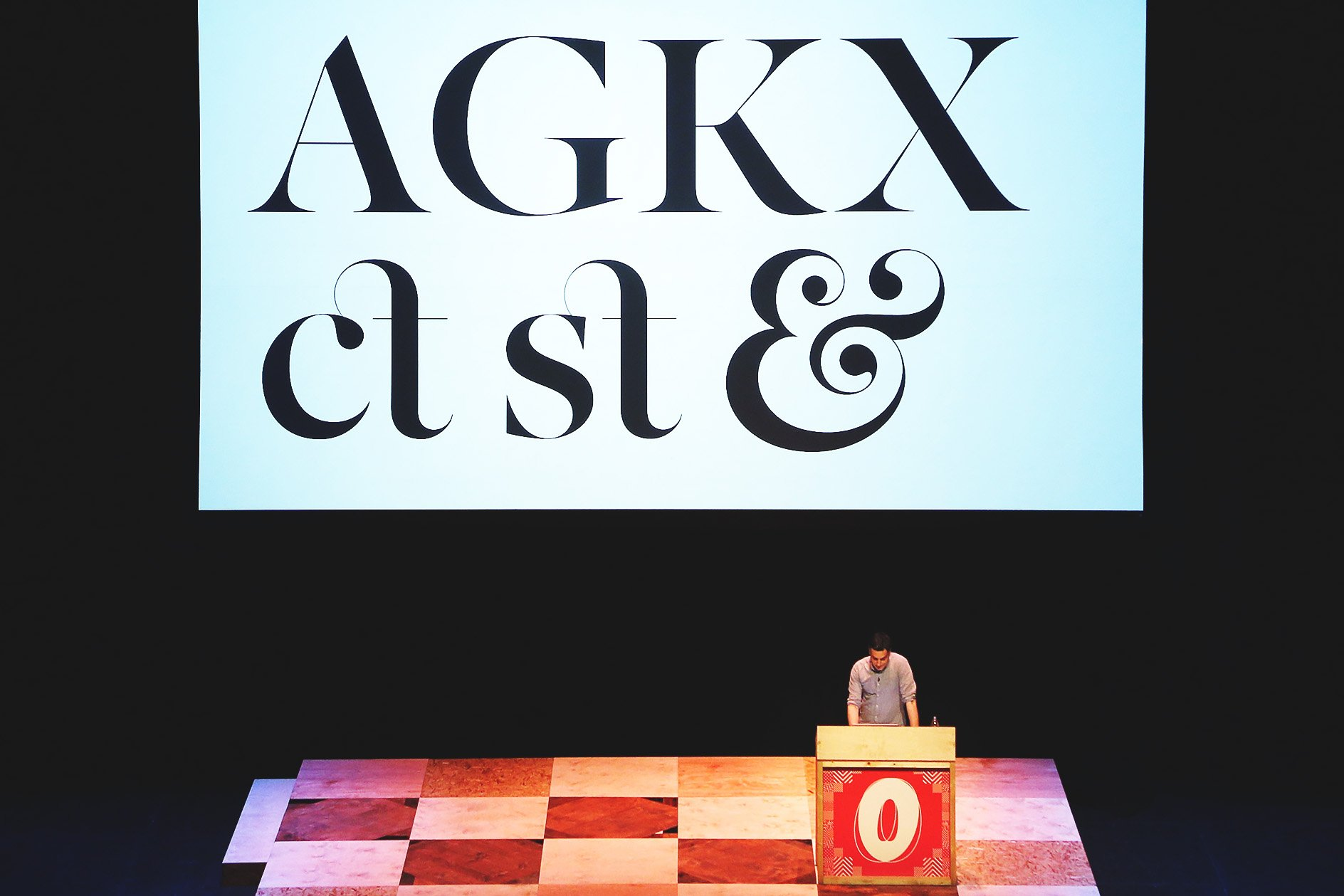 Matt Willey at OFFSET 2015 – Ligatures for the Independent Typefaces