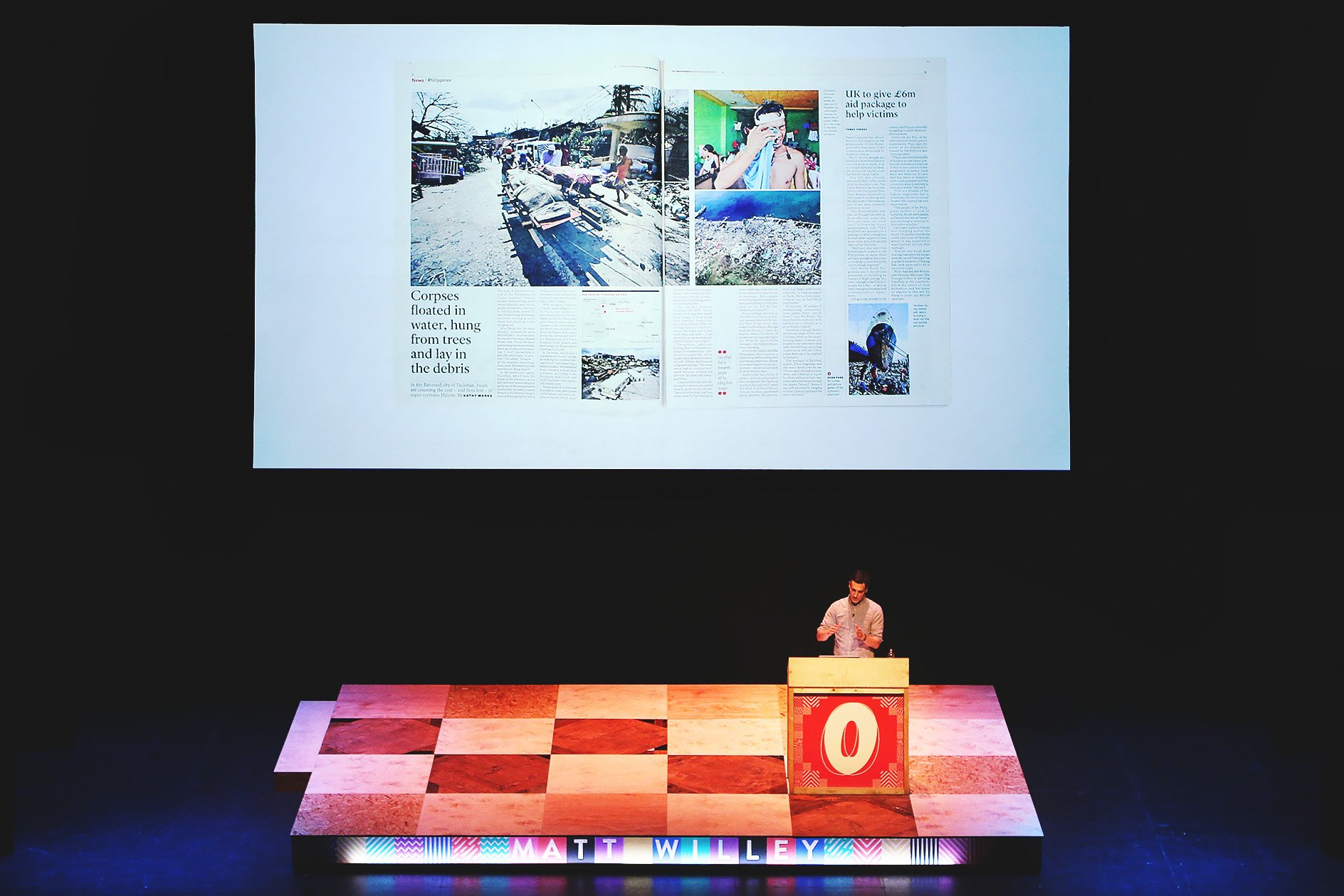 Matt Willey at OFFSET 2015 – Inside the Independent