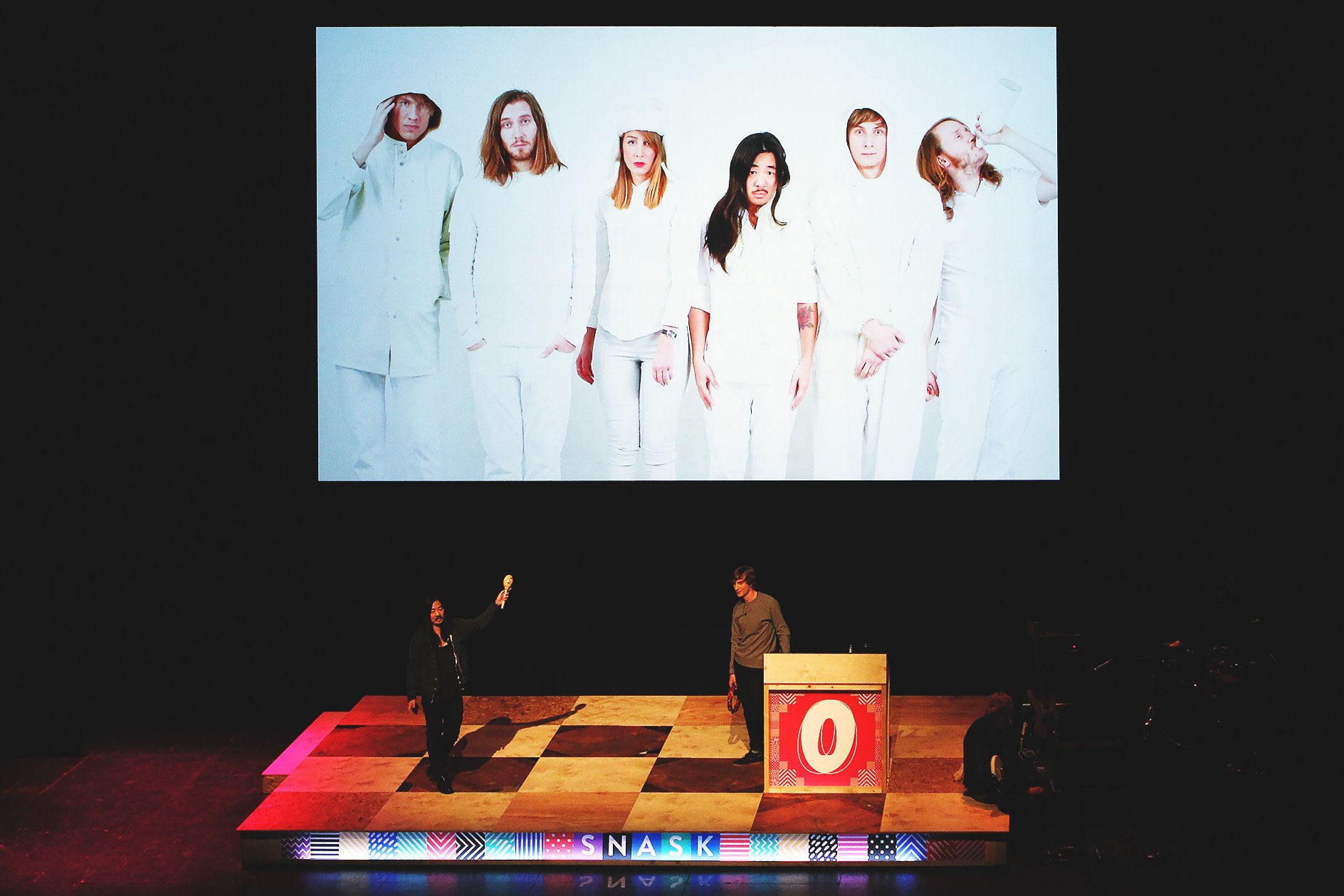 Snask at OFFSET 2015 – Awkward group photo
