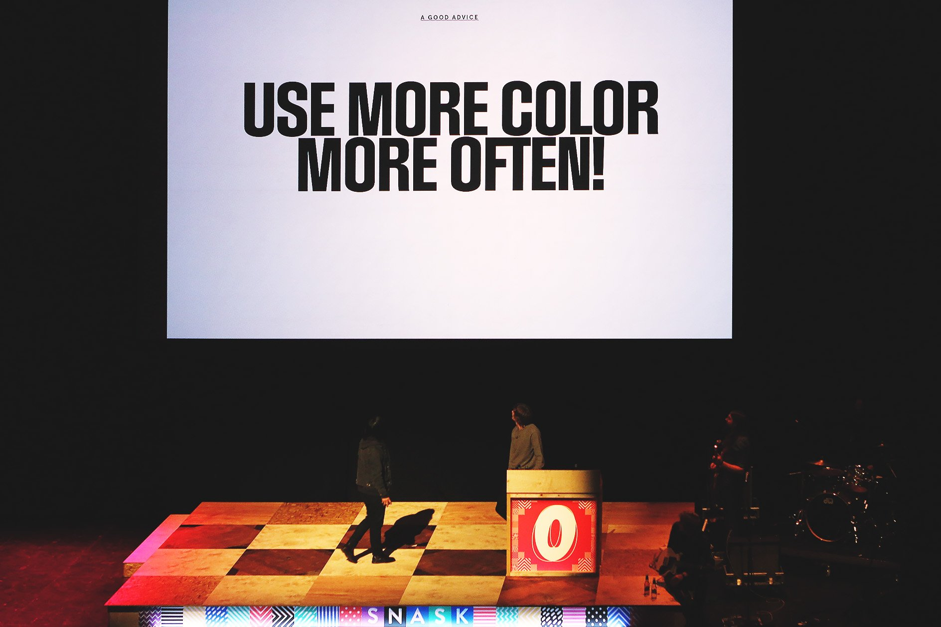 "Snask at OFFSET 2015 – ""Use more colour often"""