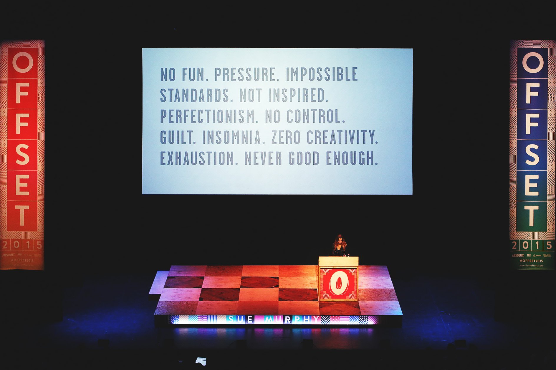 Sue Murphy at OFFSET 2015 – Corporate pressures