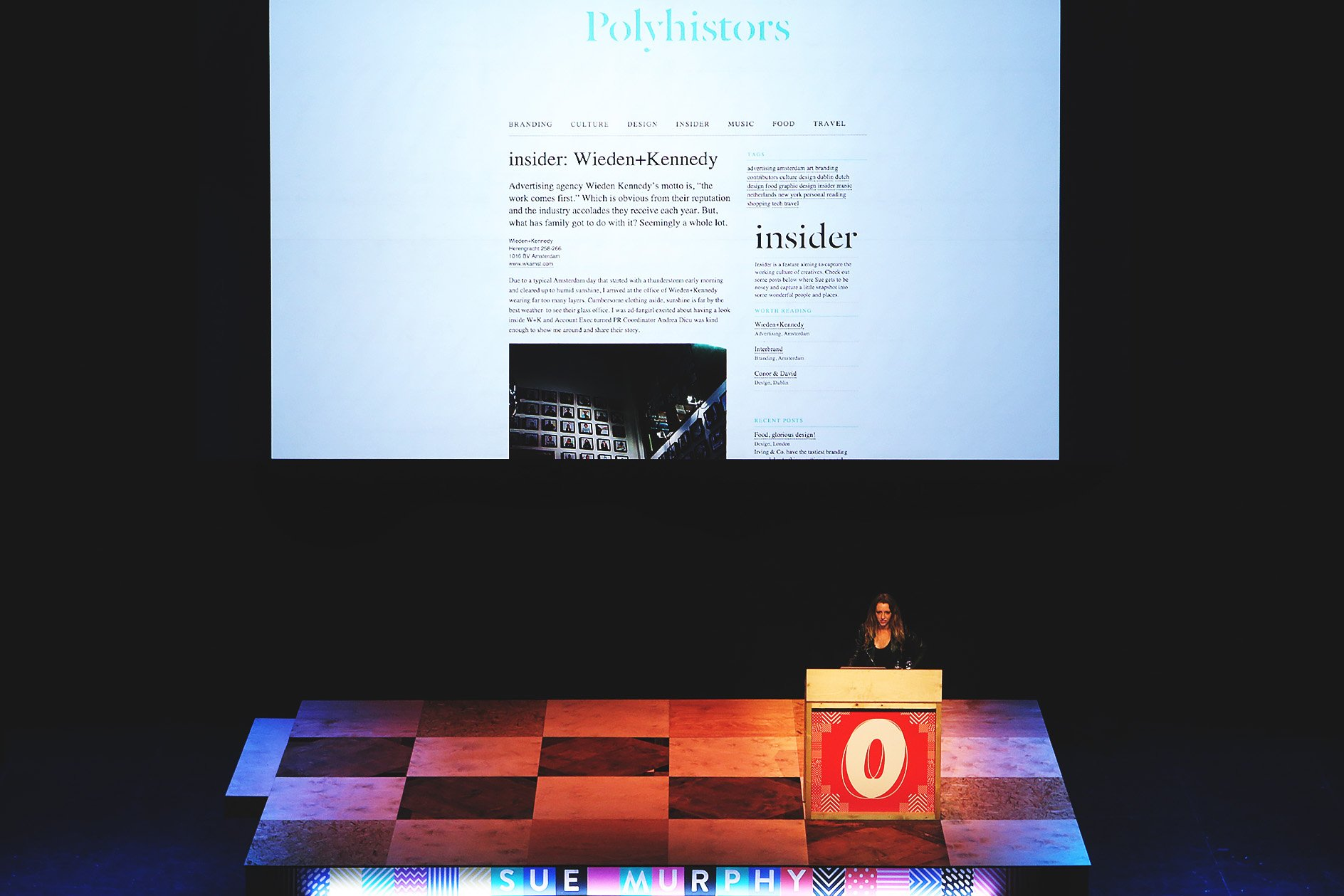 Sue Murphy at OFFSET 2015 – Polyhistors