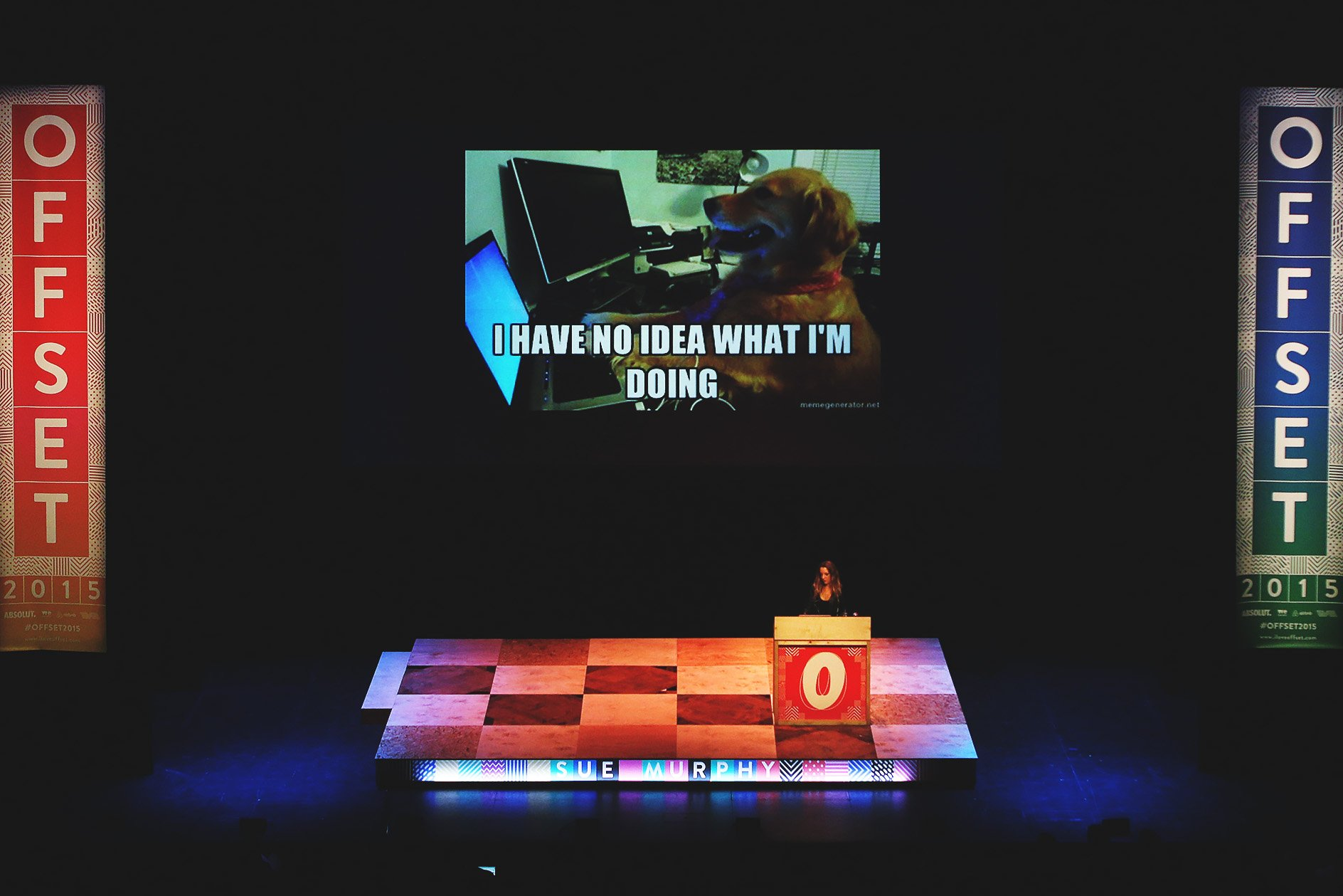 "Sue Murphy at OFFSET 2015 – ""I have no idea what I'm doing"""
