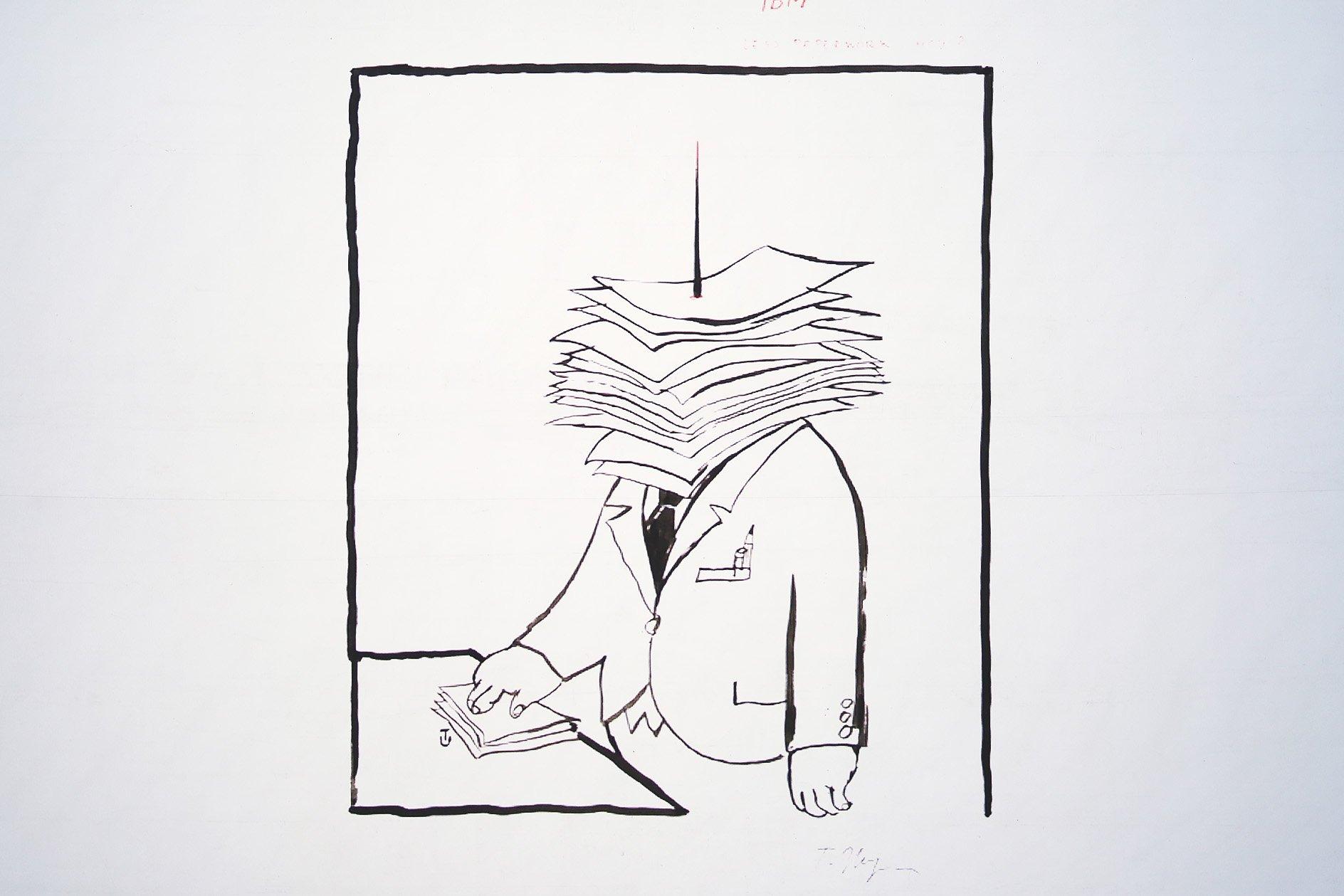 Tomi Ungerer at OFFSET 2015 – Adult illustrations