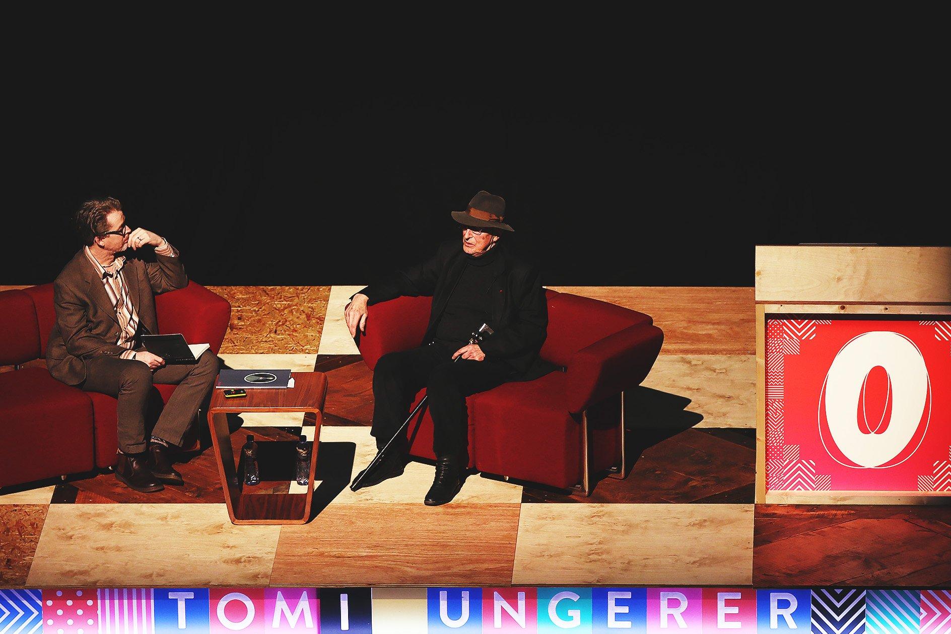Tomi Ungerer at OFFSET 2015