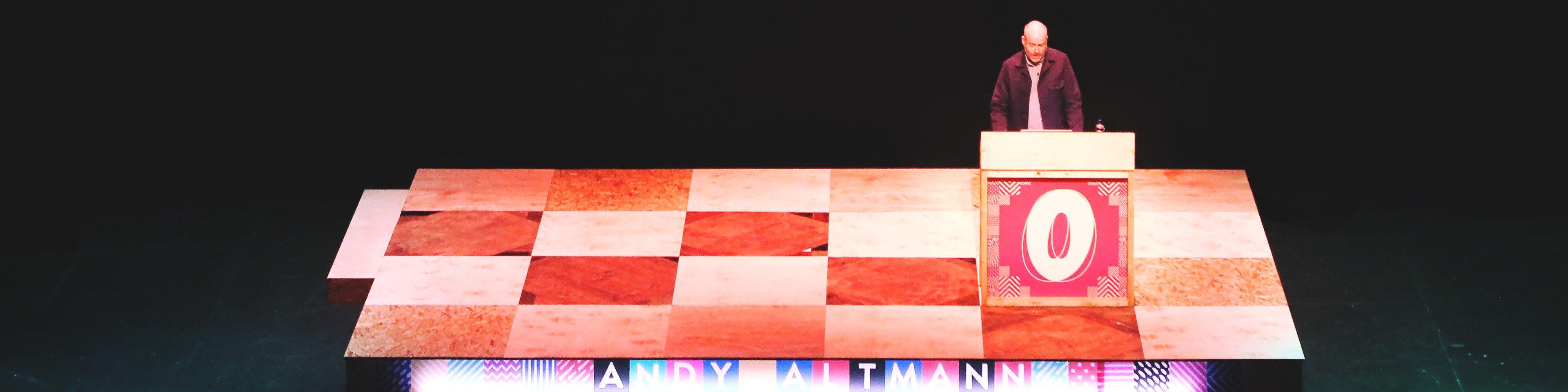 Andy Altmann at OFFSET 2015
