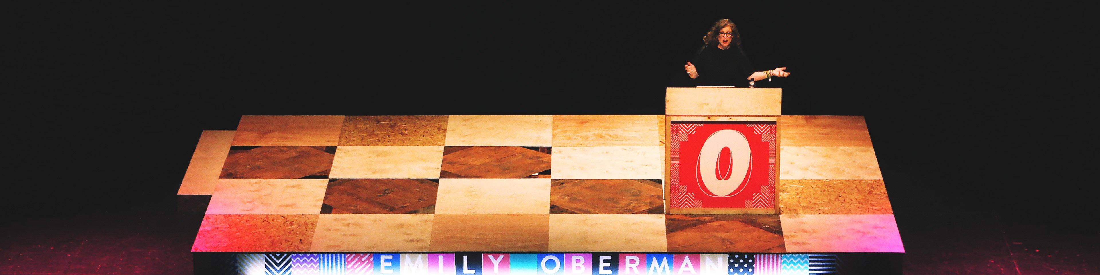Emily Oberman at OFFSET 2015