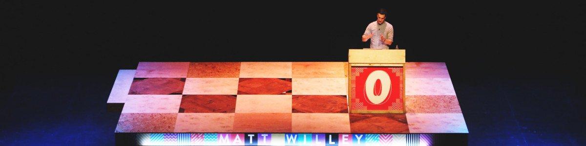 Matt Willey at OFFSET 2015
