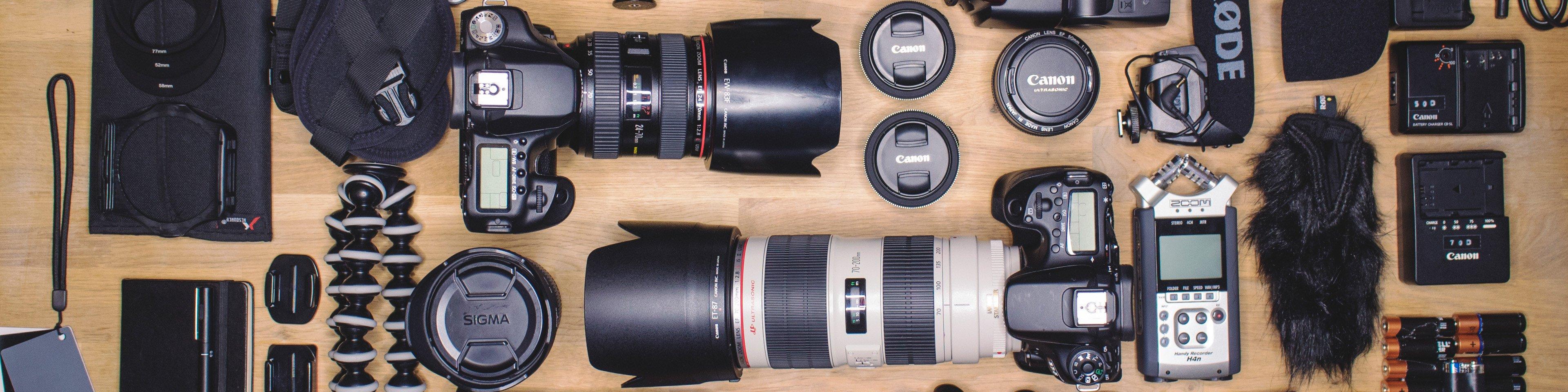 All camera equipment