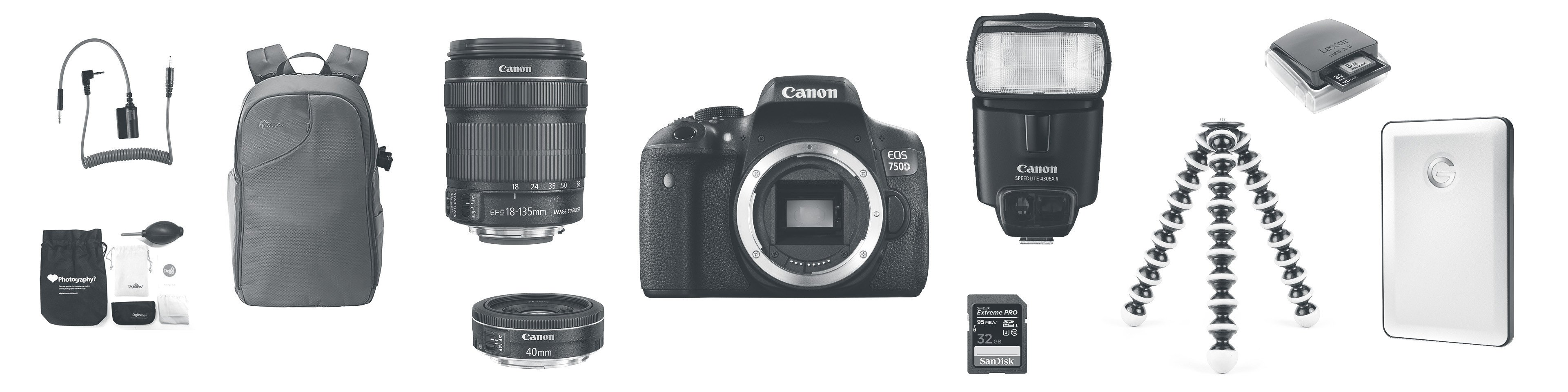 Essential Beginner DSLR Camera Gear