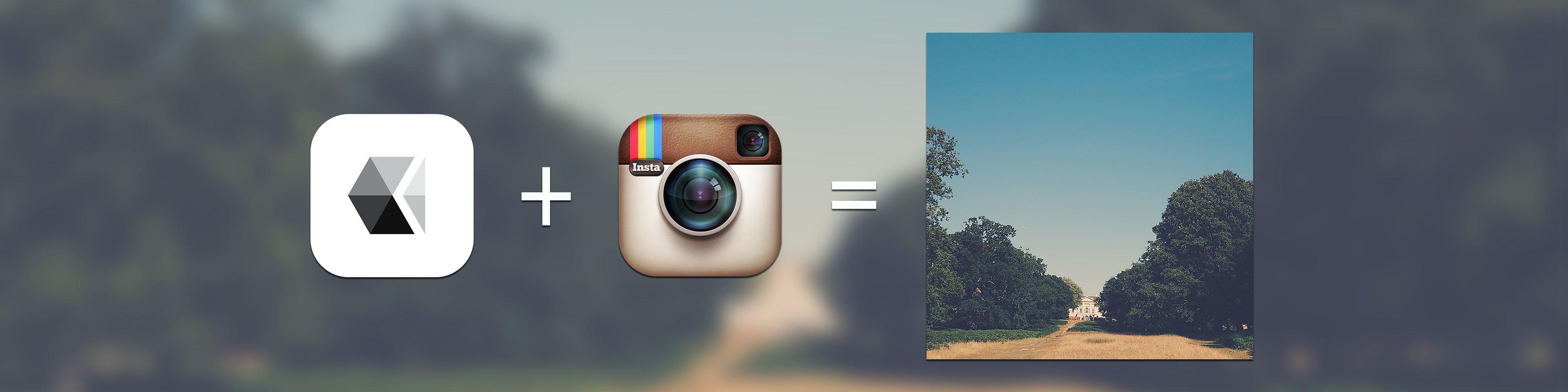 VSCO + Instagram