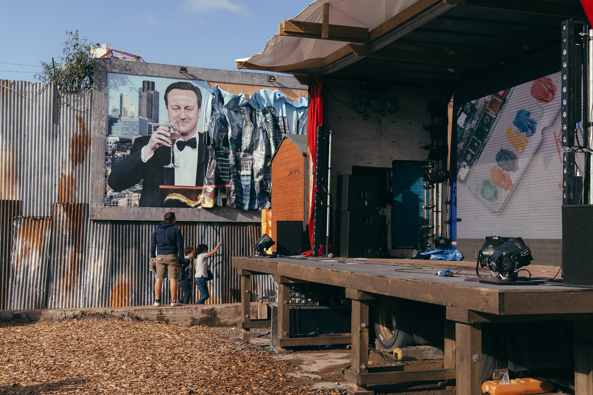 Banksy's Dismaland Stage