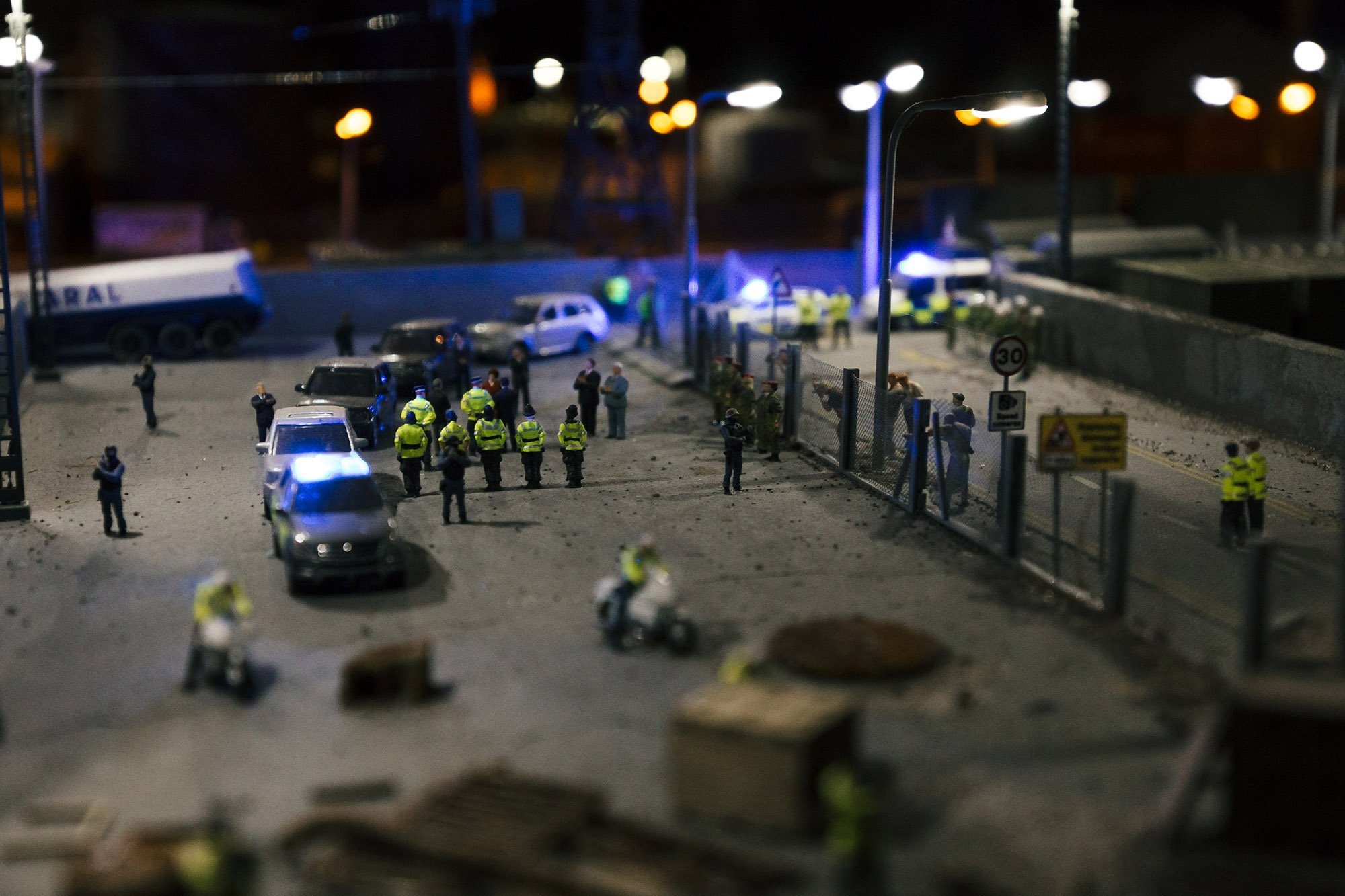 Banksy's Dismaland  mini city