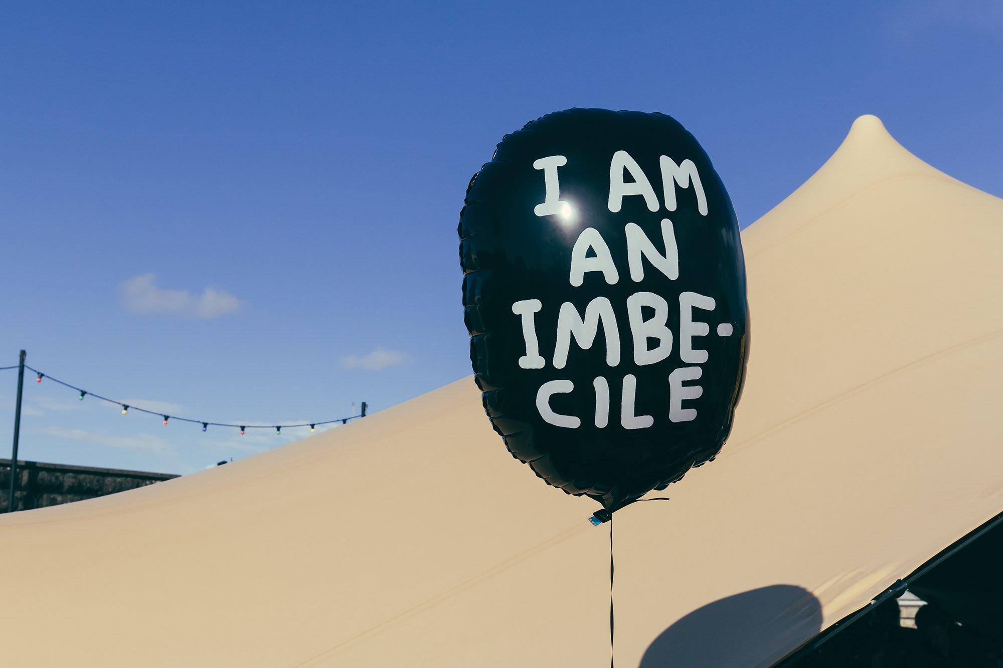Banksy's Dismaland balloon