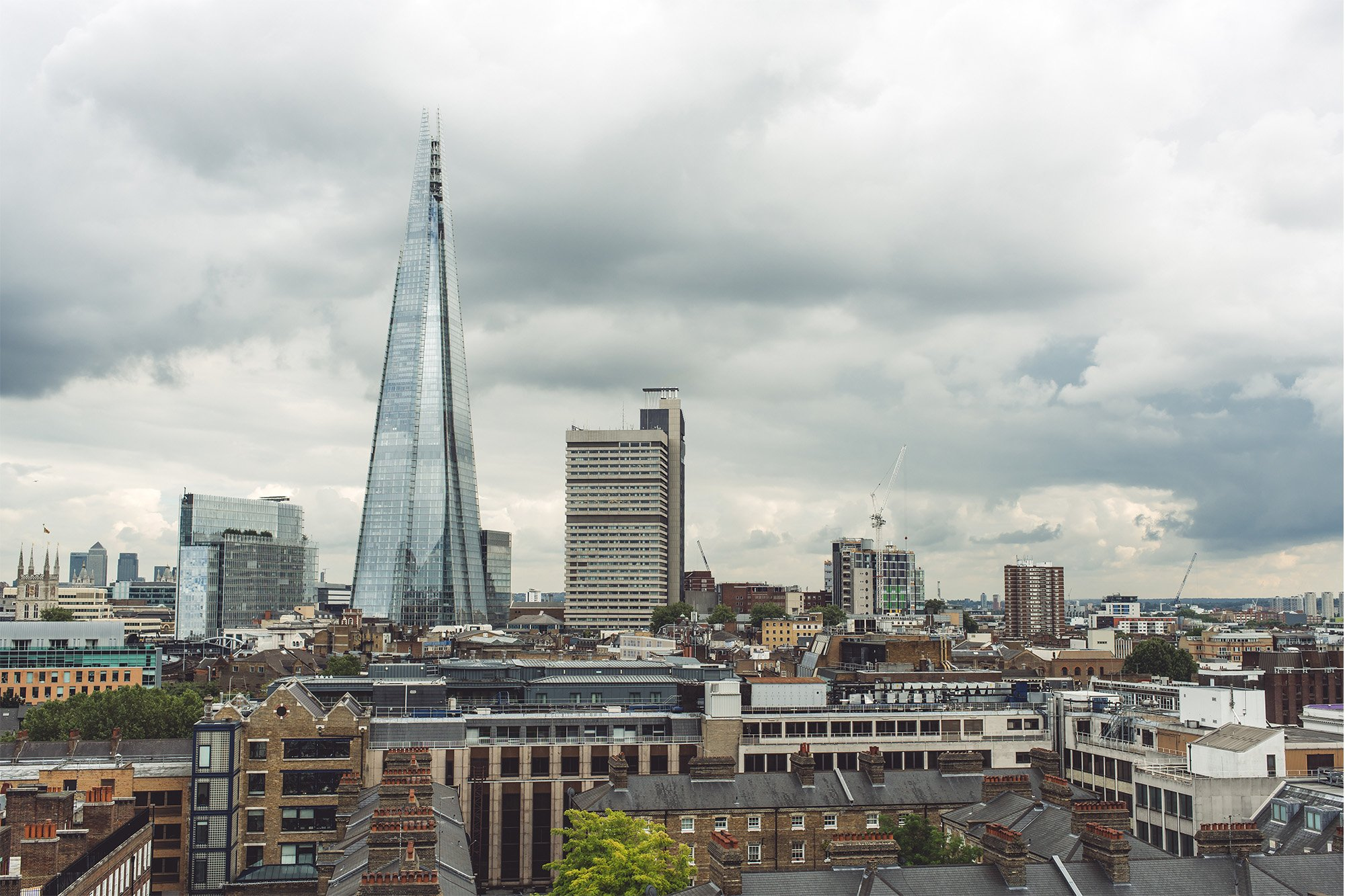 Testing the Sony A7R II – Daytime view of The Shard in London