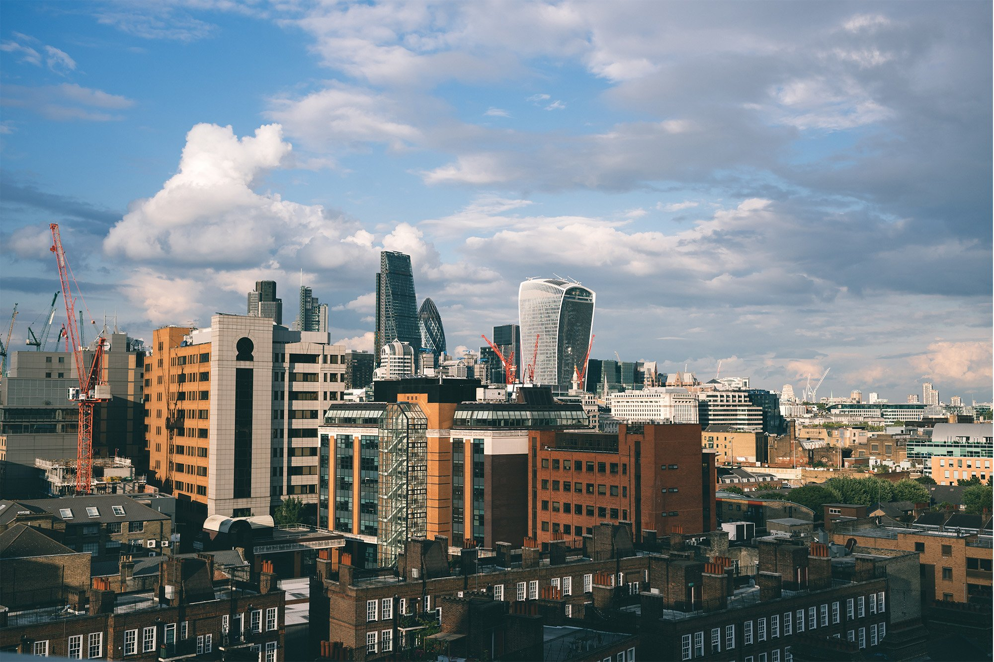 Testing the Sony A7R II – Daytime view of the City in London