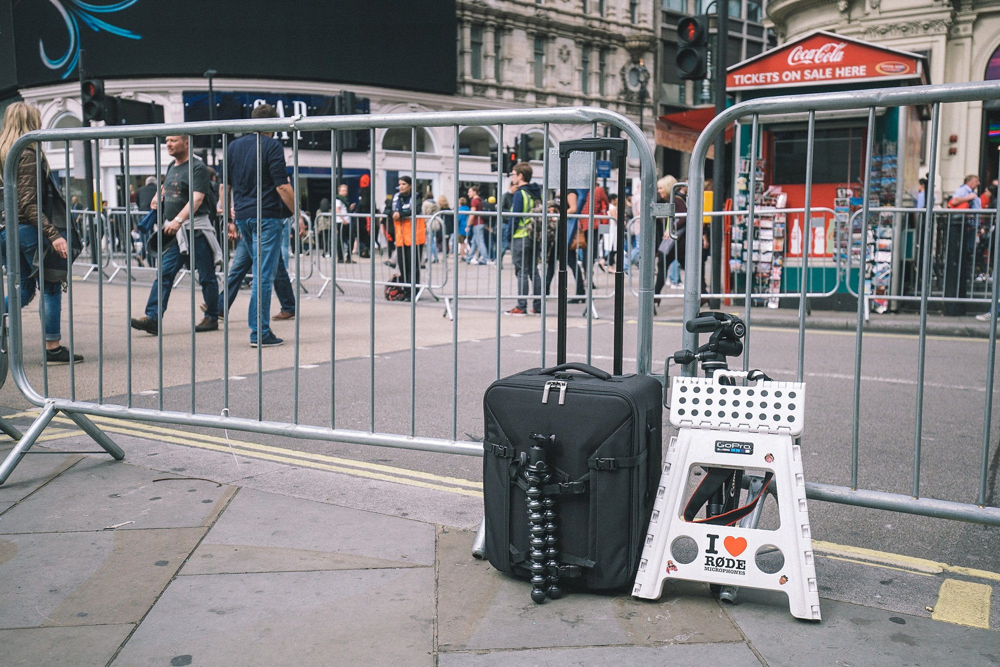Manfrotto Pro Roller 50 and Other Gear at the Tour of Britain