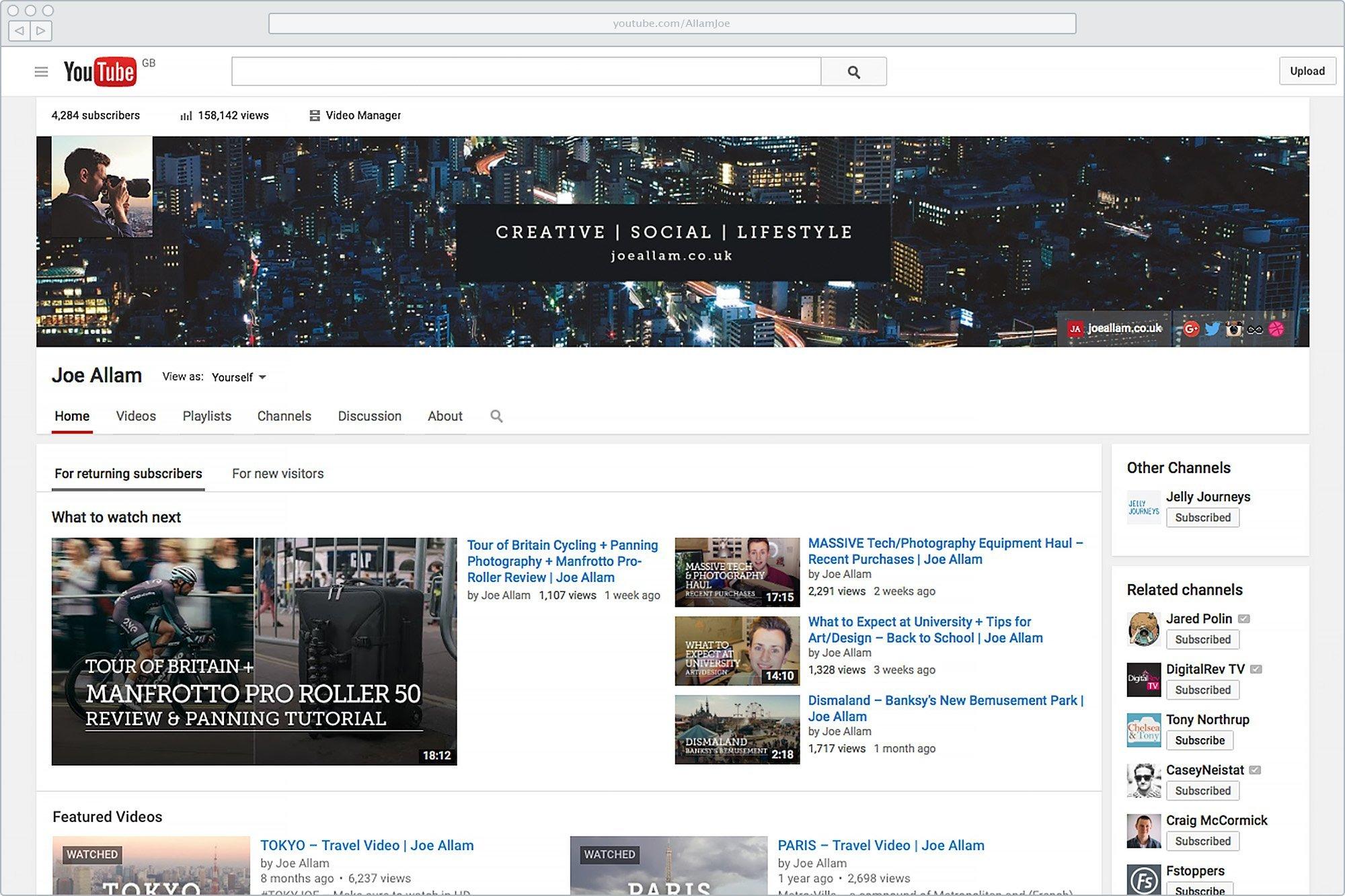 Old YouTube Branding