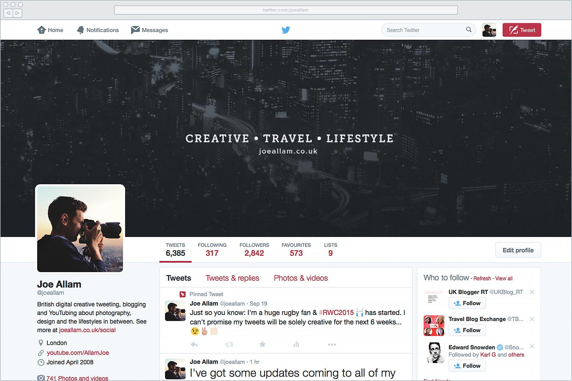 New Twitter Branding