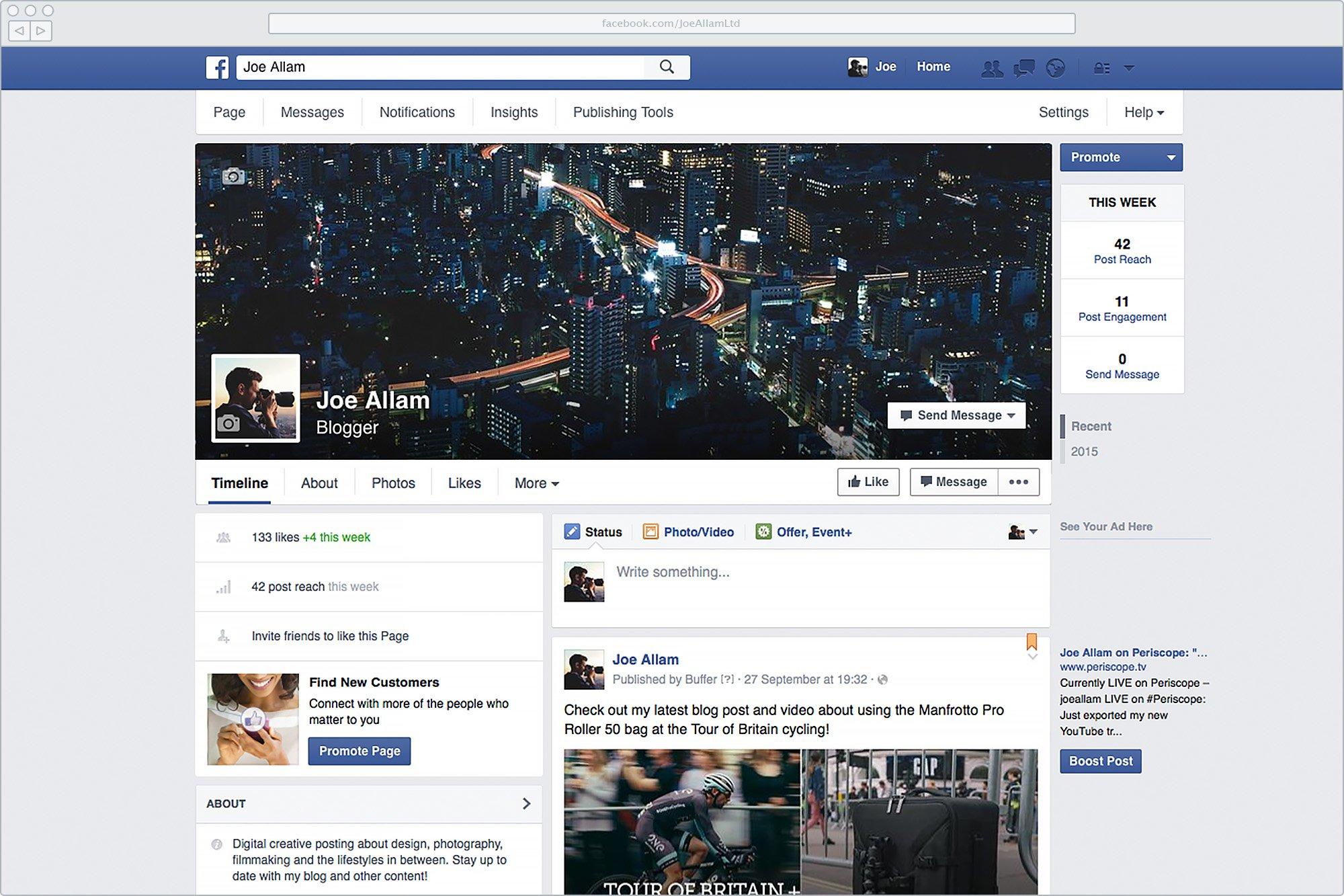 Old Facebook Branding