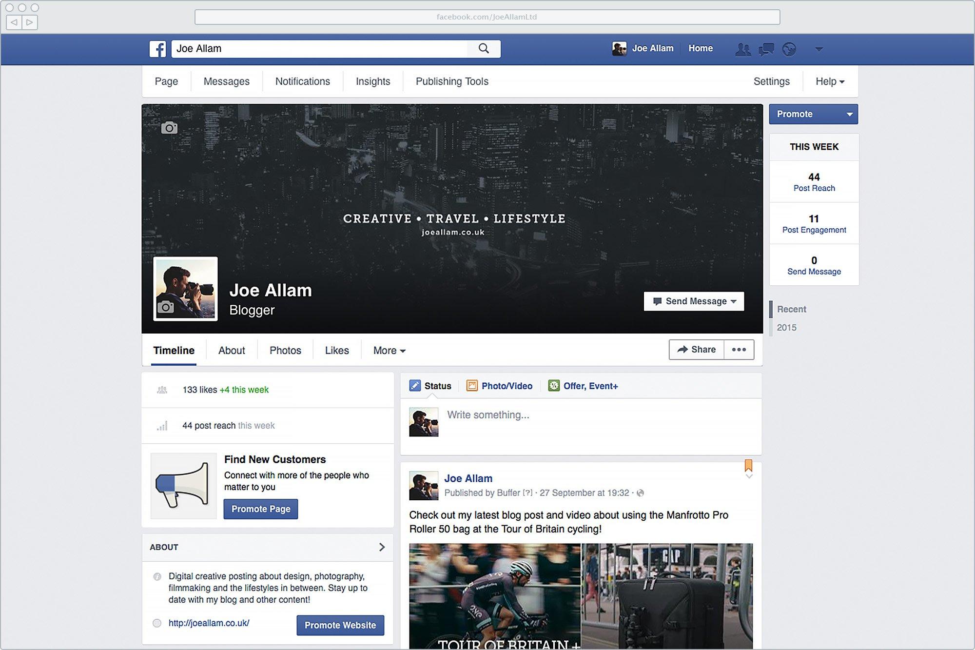 New Faceboook Branding