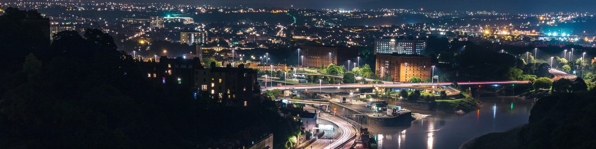 Bristol Long Exposure Night Photography