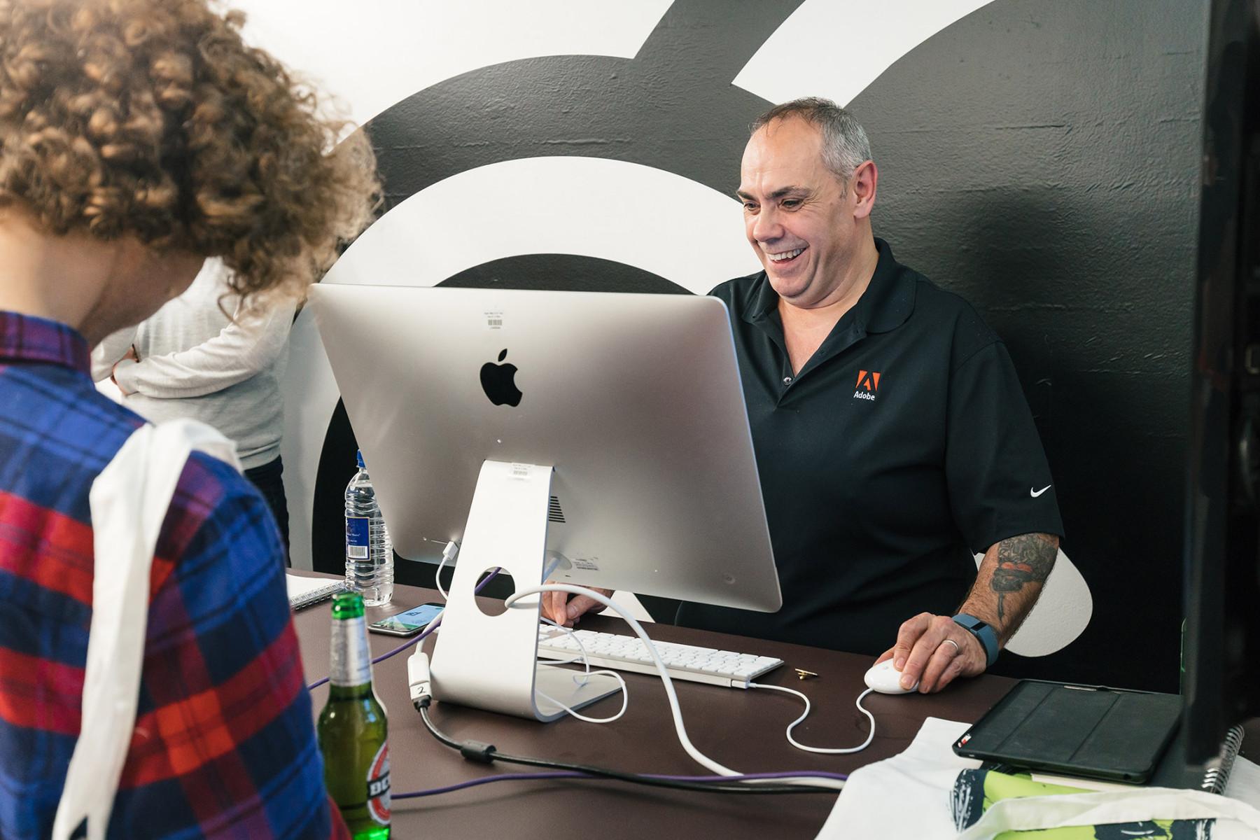 Adobe Creative Cloud Event Tony on Photoshop