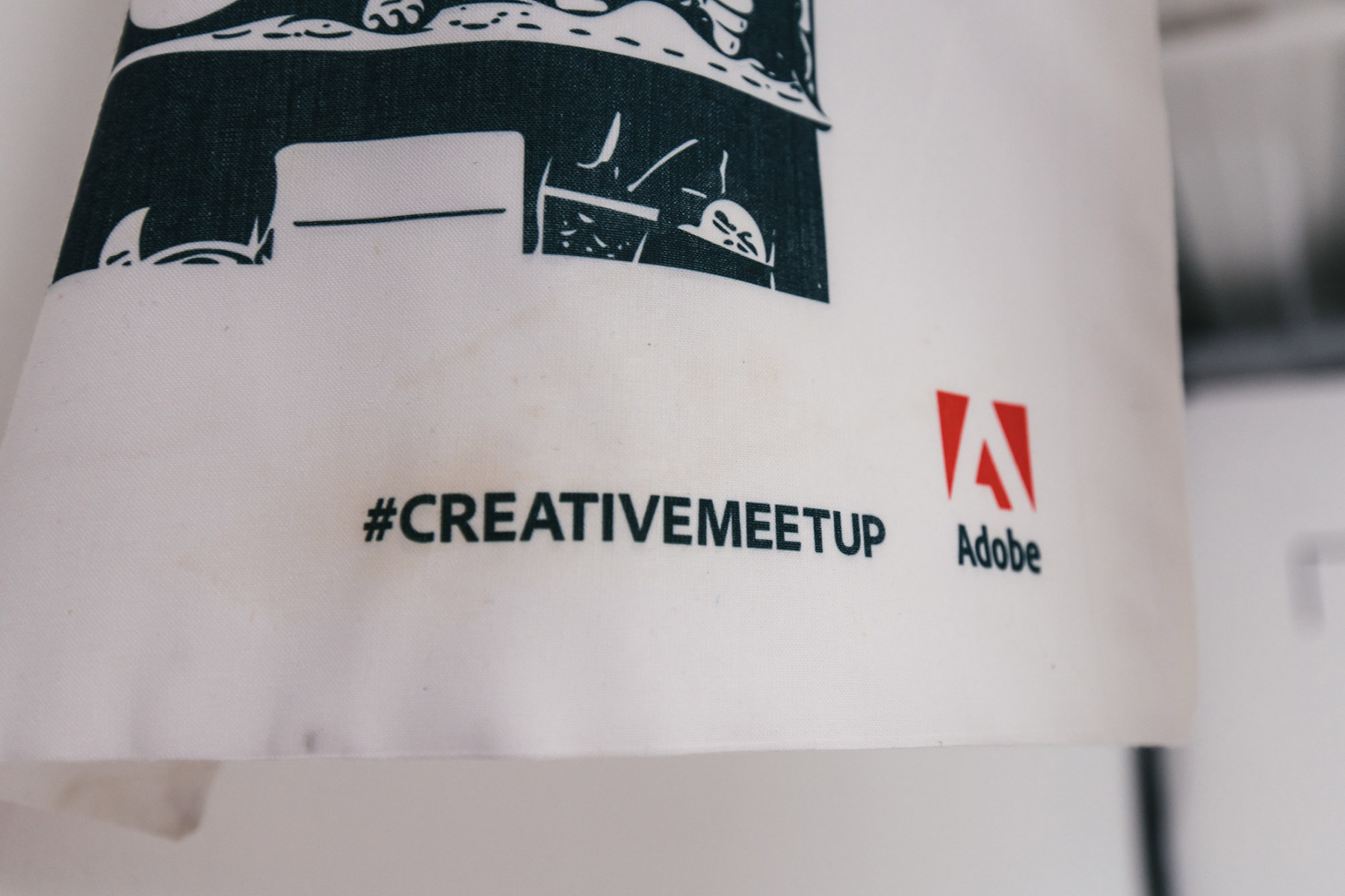 Adobe Creative Cloud Event Printed Bags