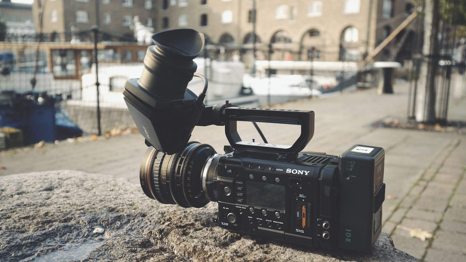 Sony F5 with Tokina Cine Lens